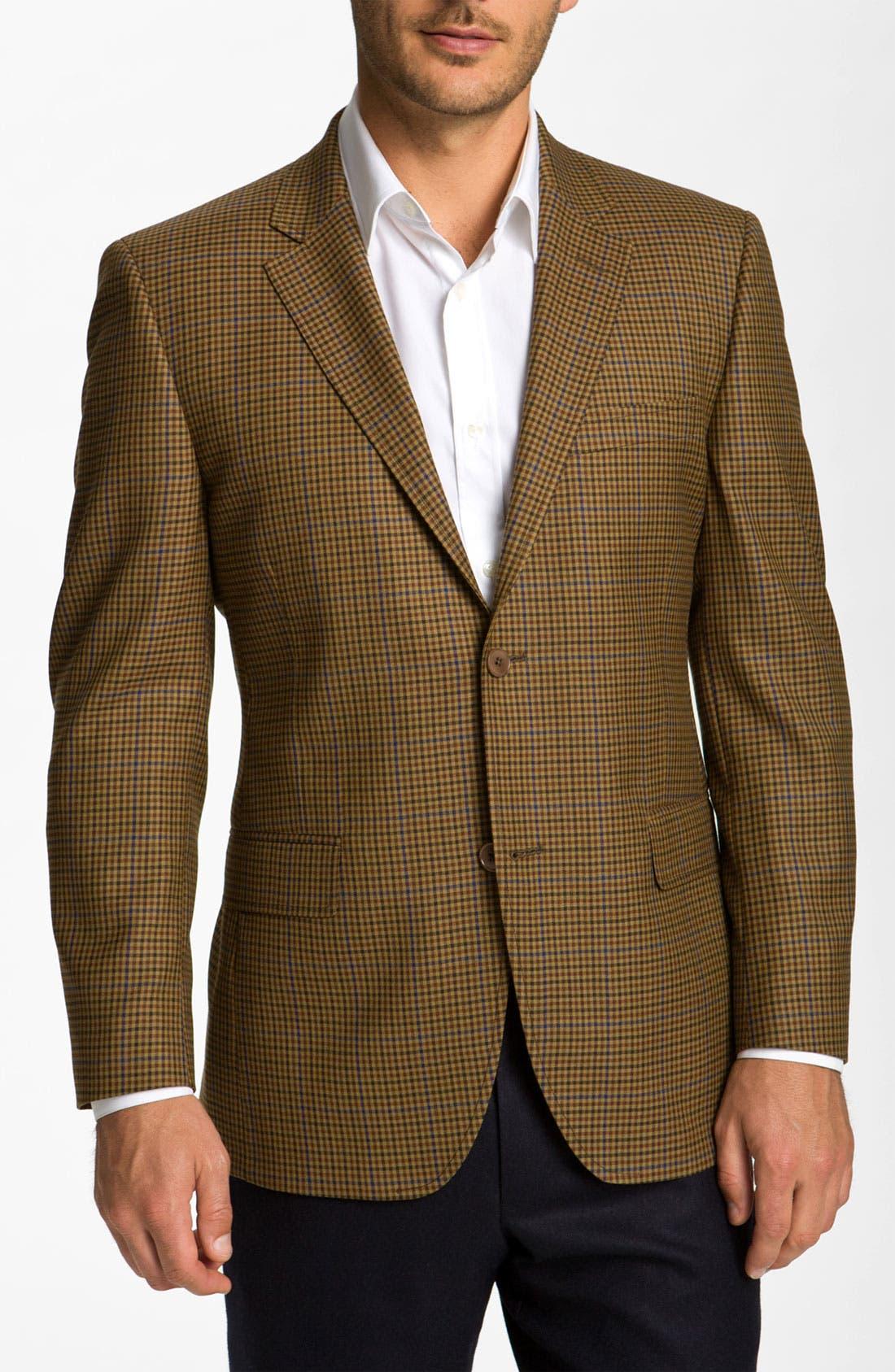 Alternate Image 1 Selected - Di Milano Uomo Check Sportcoat