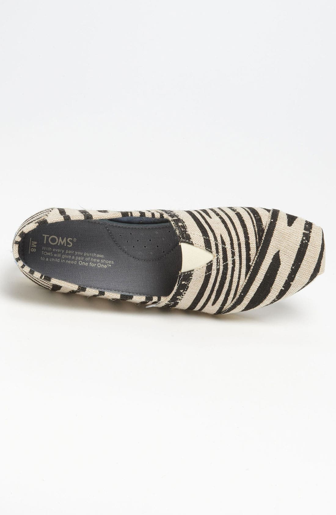 Alternate Image 3  - TOMS 'Classic -Print' Slip-On (Men)