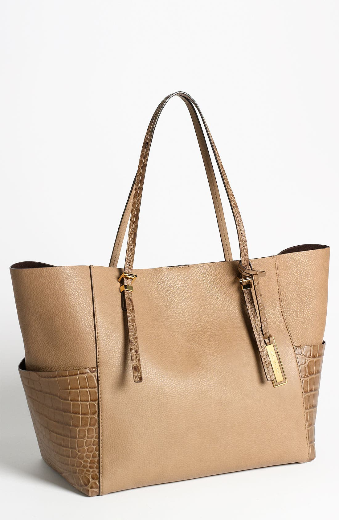 Alternate Image 1 Selected - Michael Kors Leather Tote