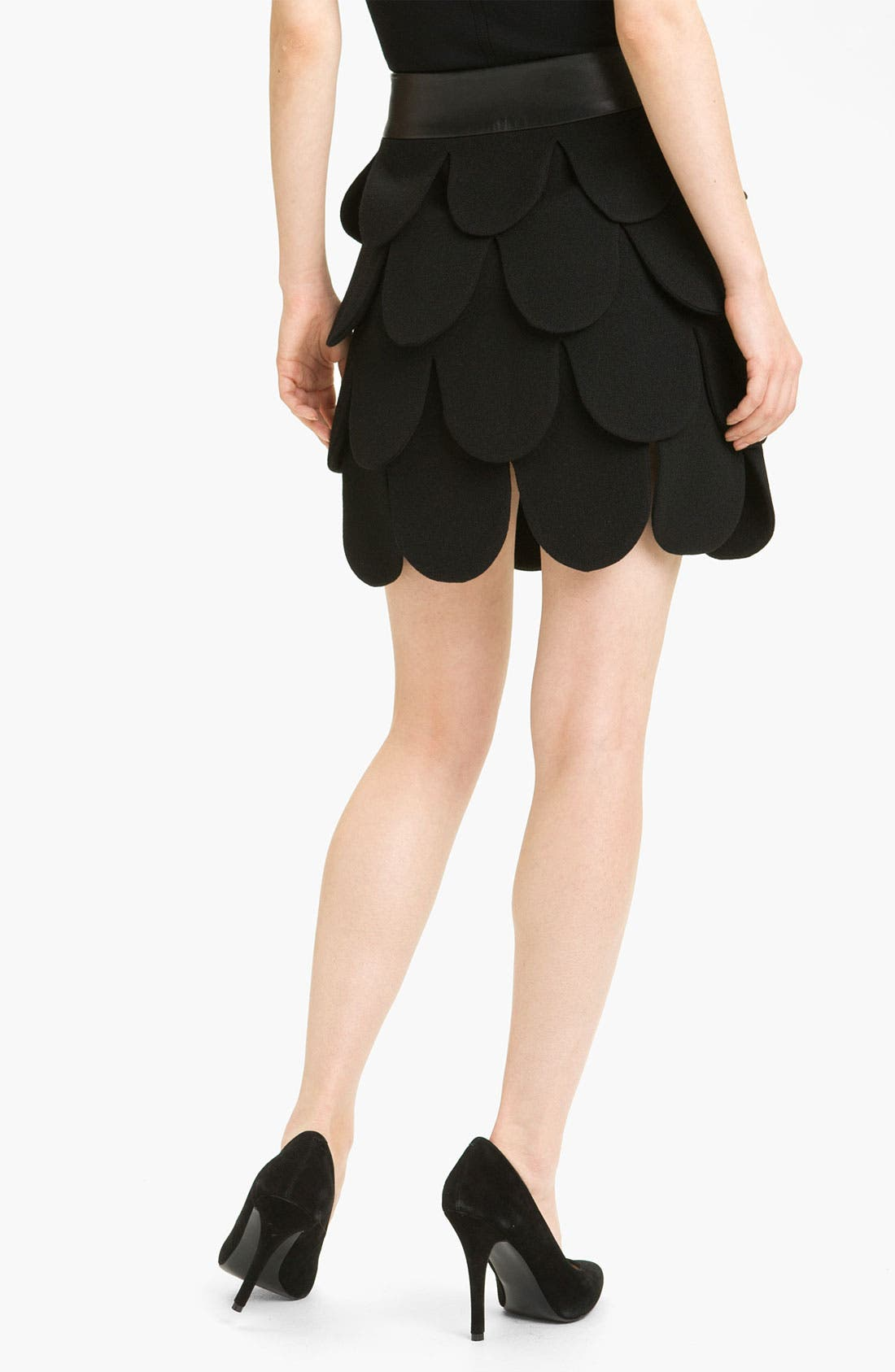Alternate Image 2  - Milly 'Cleo' Tiered Wool Skirt