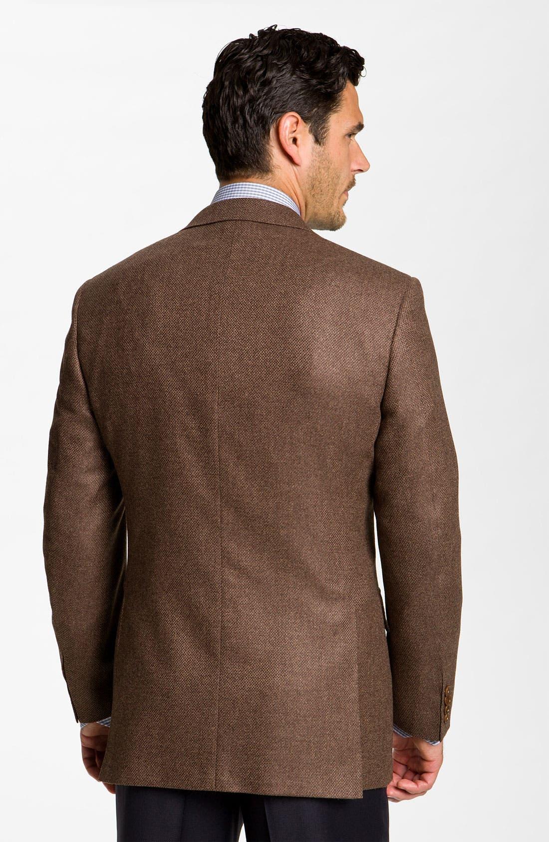 Alternate Image 2  - Canali Wool Blend Sportcoat