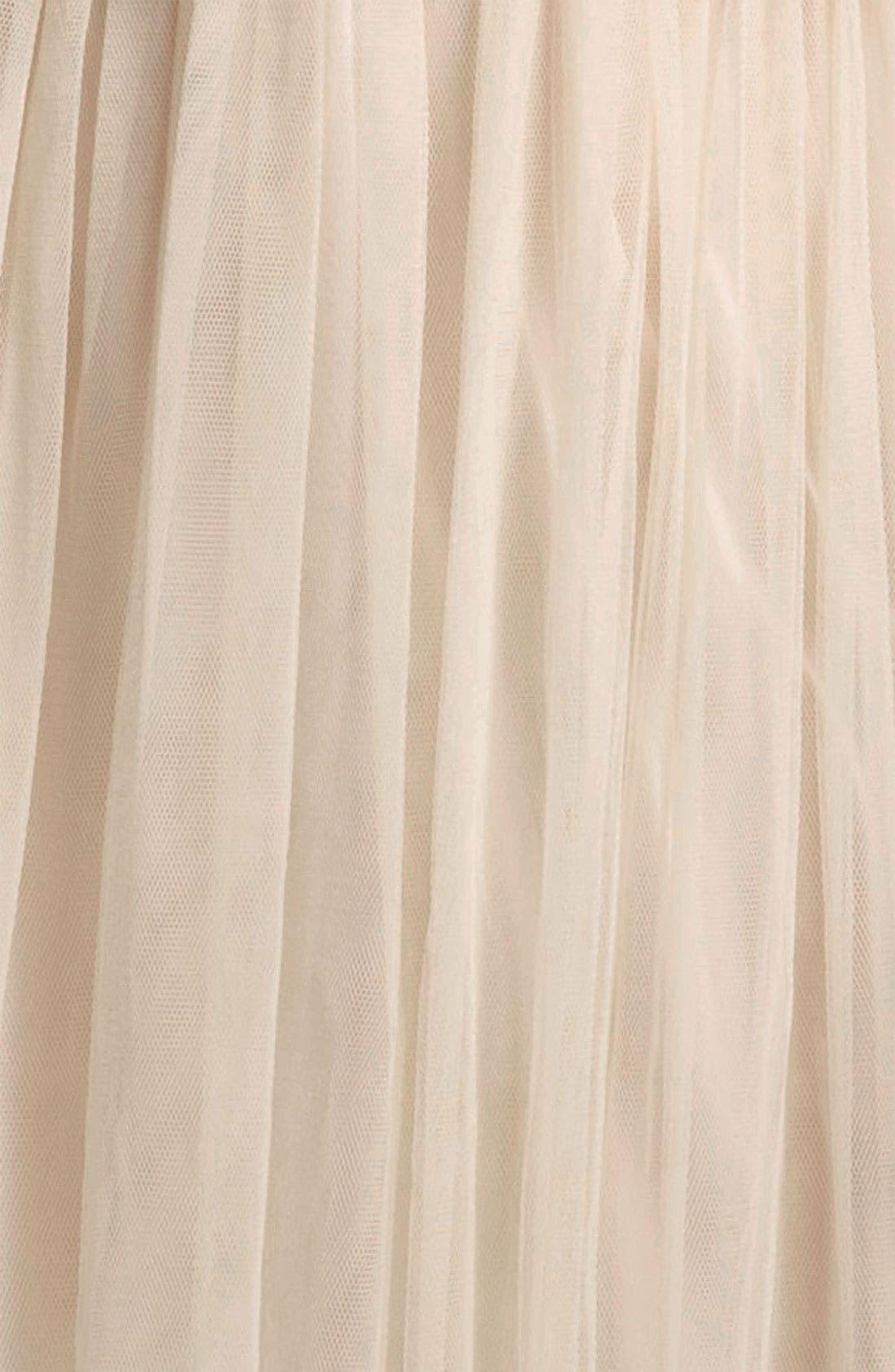 Alternate Image 3  - Fire Crochet Tulle Dress (Juniors)