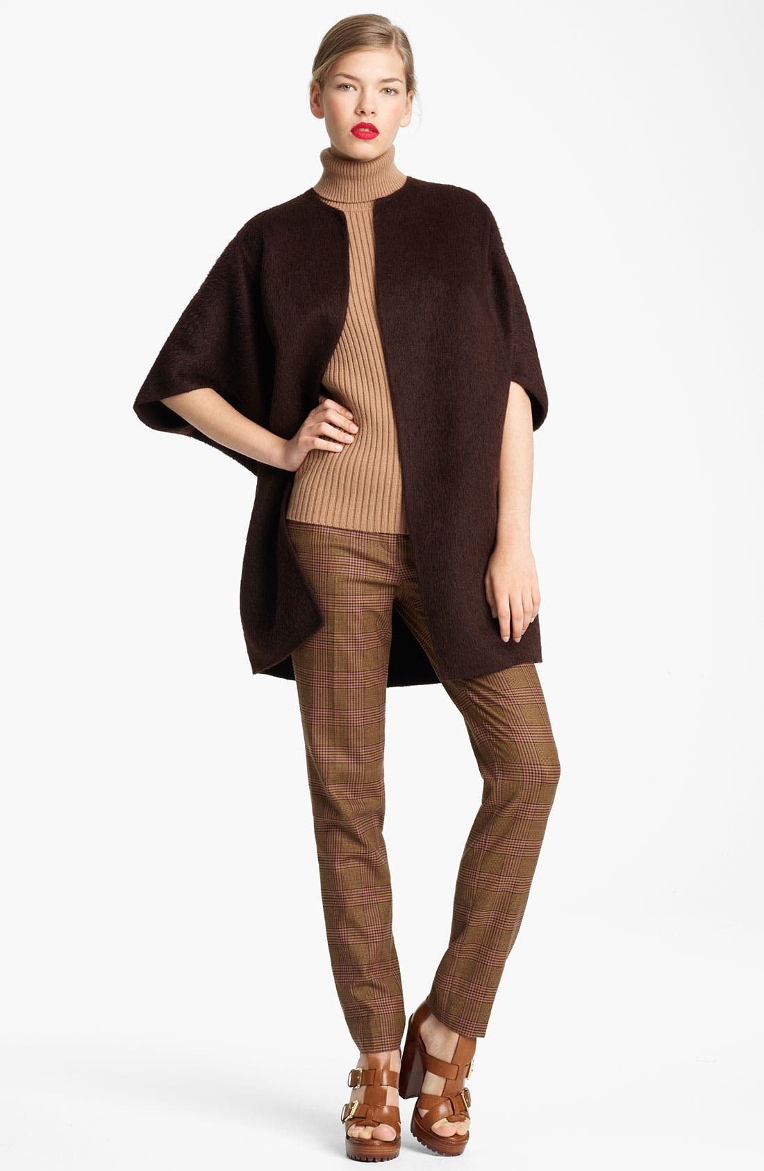 Alternate Image 1 Selected - Michael Kors Double Face Dolman Coat