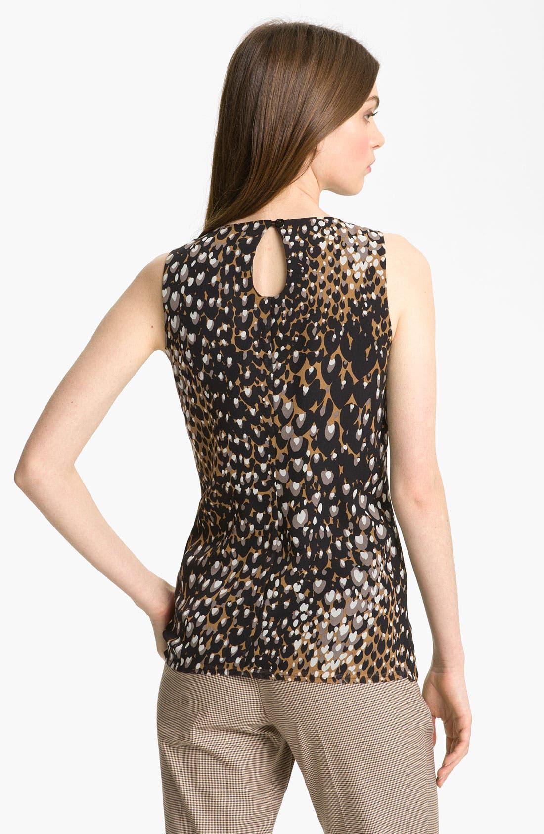 Alternate Image 2  - Trina Turk 'Voyer' Sleeveless Silk Blouse