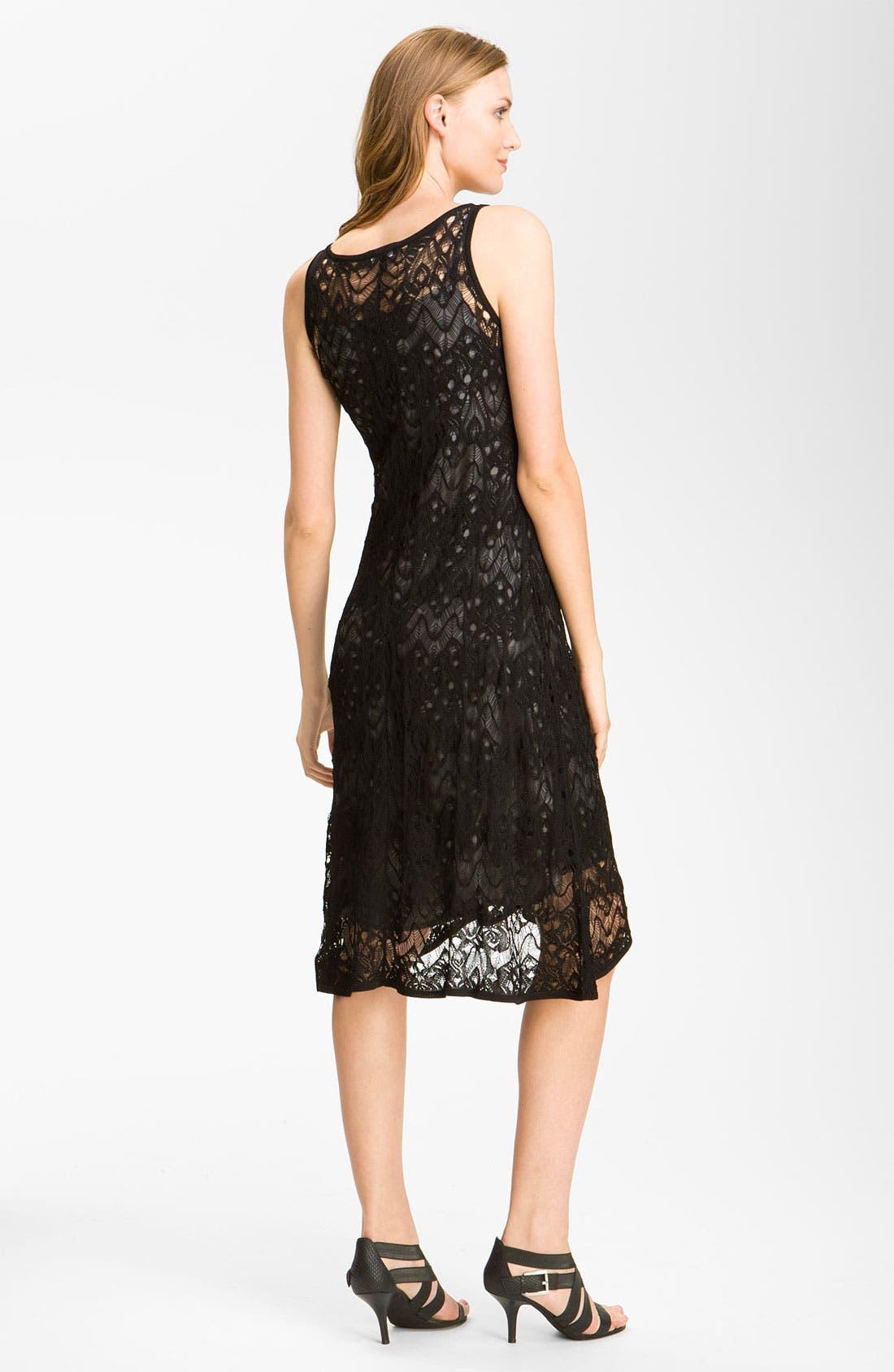Alternate Image 2  - Eileen Fisher Lace Tank Dress