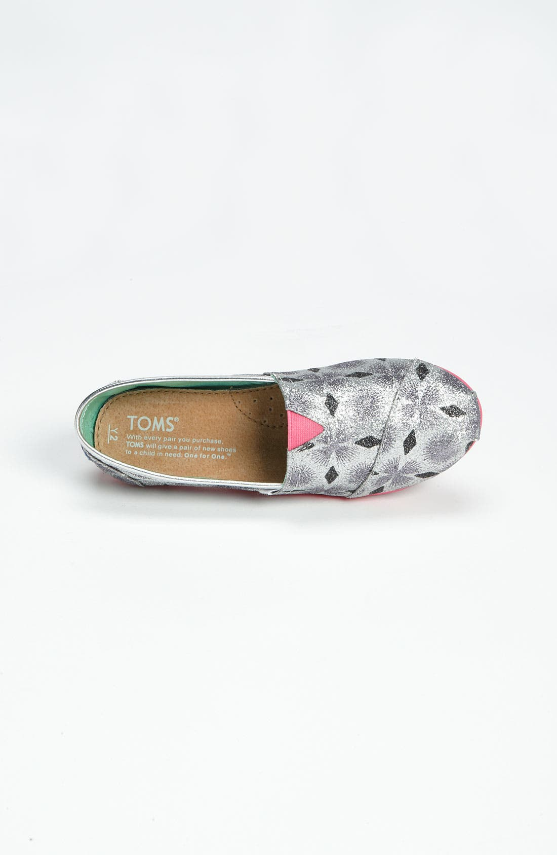Alternate Image 3  - TOMS 'Classic Youth - Starburst' Slip-On (Little Kid & Big Kid) (Nordstrom Exclusive)