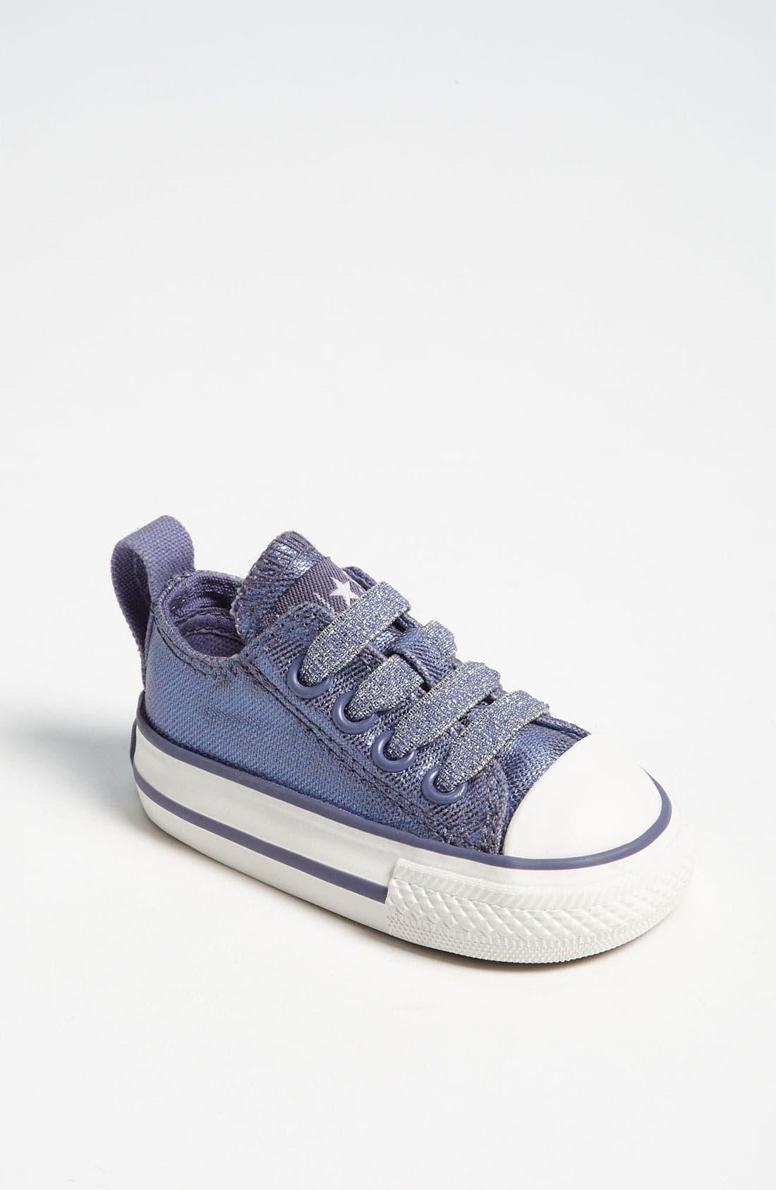 Main Image - Converse 'Shimmer' Slip-On Sneaker (Baby, Walker, Toddler, Little Kid & Big Kid)