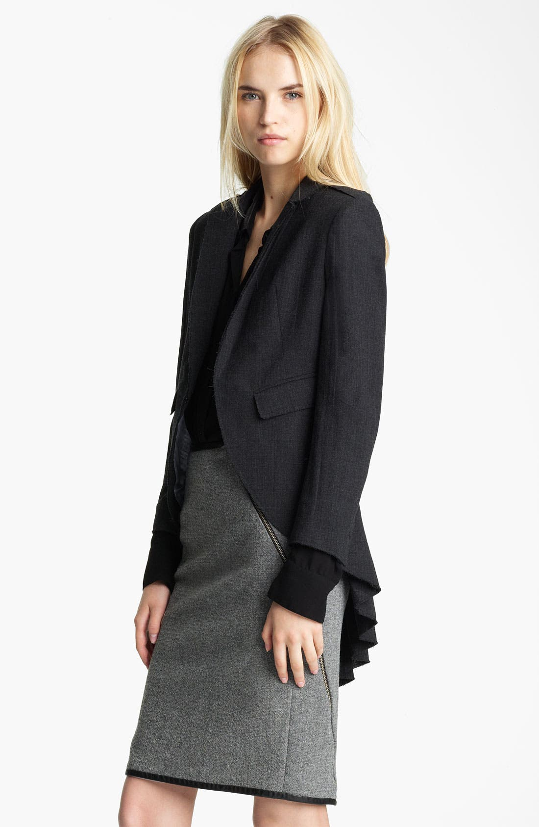 Alternate Image 1 Selected - Band of Outsiders Stretch Wool Blazer