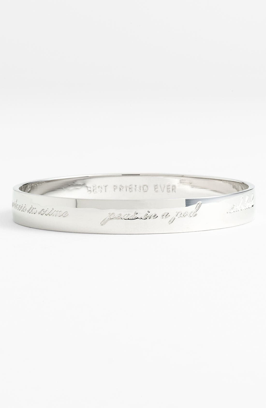 Alternate Image 1 Selected - kate spade new york 'idiom - bridesmaid' bangle