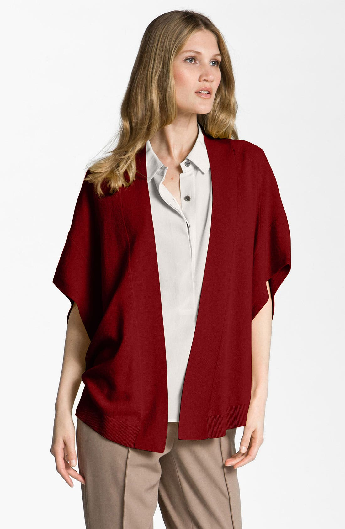 Main Image - Nordstrom Collection Cashmere Vest