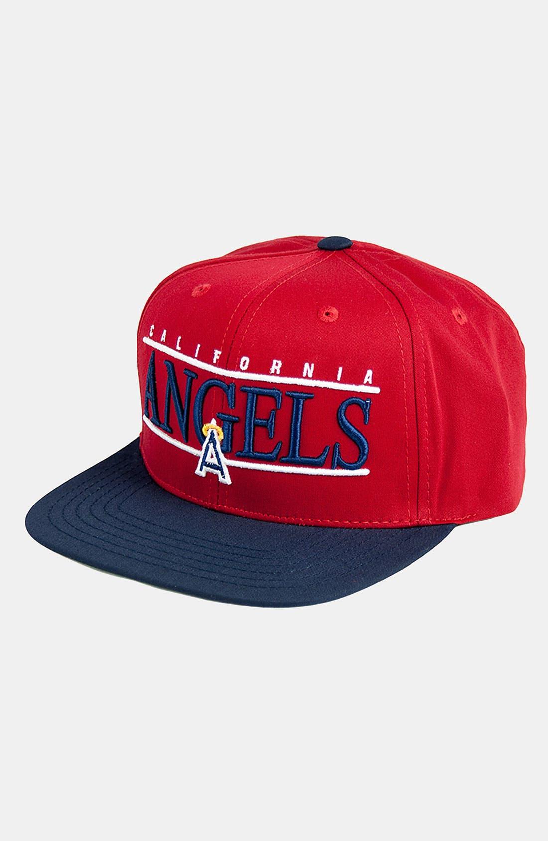 Main Image - American Needle 'Los Angeles Angels of Anaheim - Nineties' Twill Snapback Baseball Cap