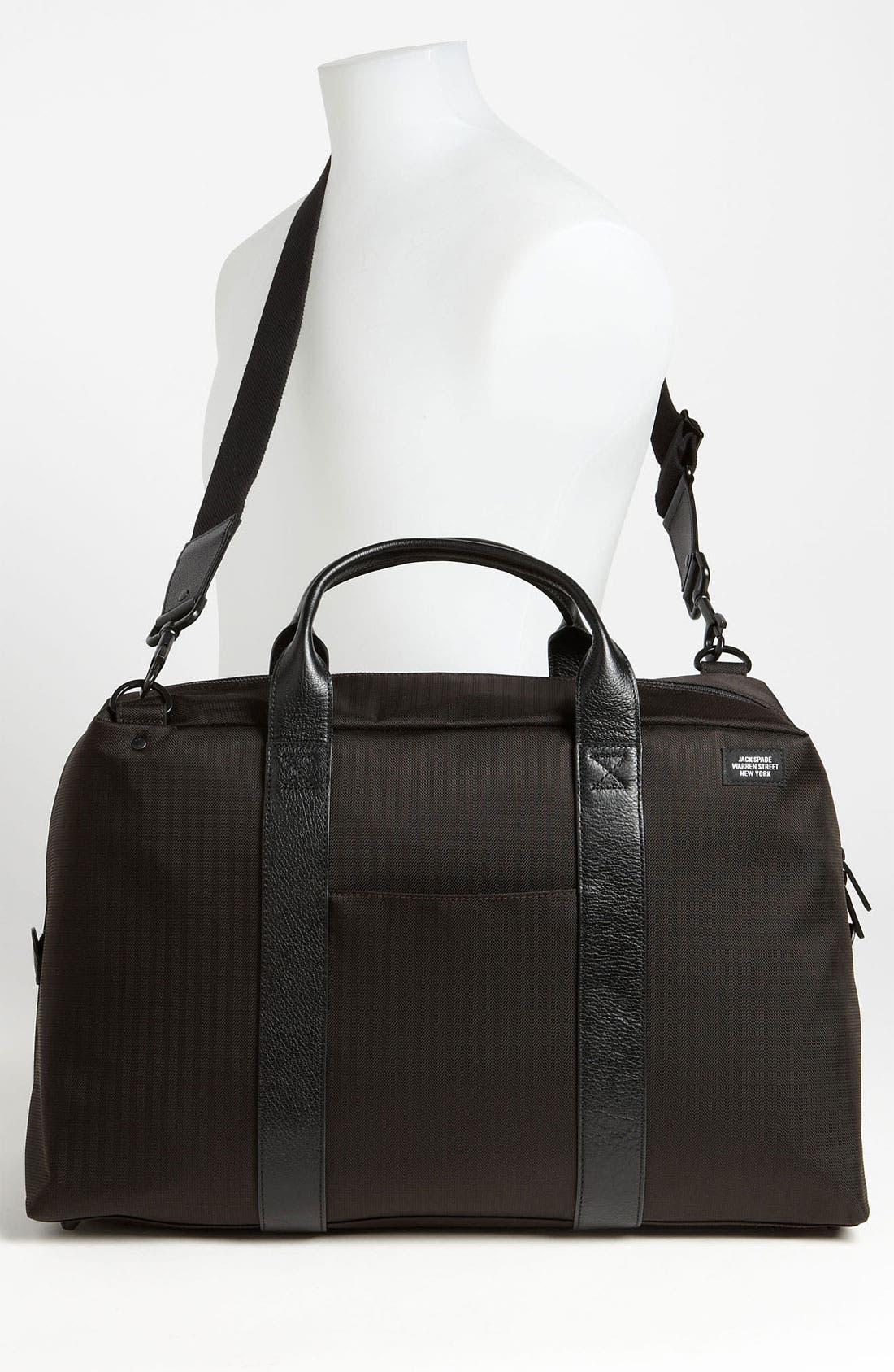 Alternate Image 4  - Jack Spade 'Wayne' Nylon Duffel Bag