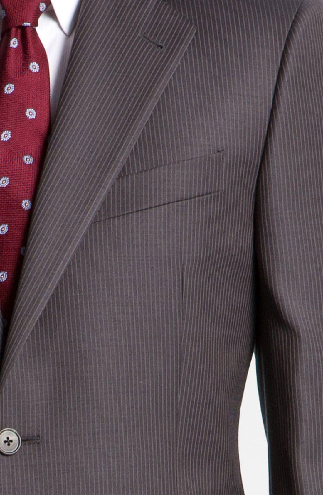 Alternate Image 6  - Joseph Abboud Pinstripe Suit