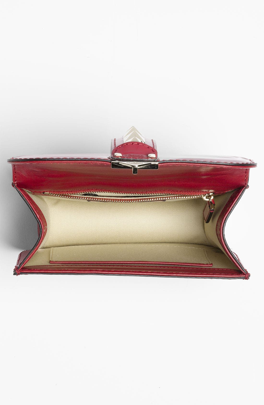 Alternate Image 3  - Valentino 'Rockstud - Small Lock' Leather Shoulder Bag
