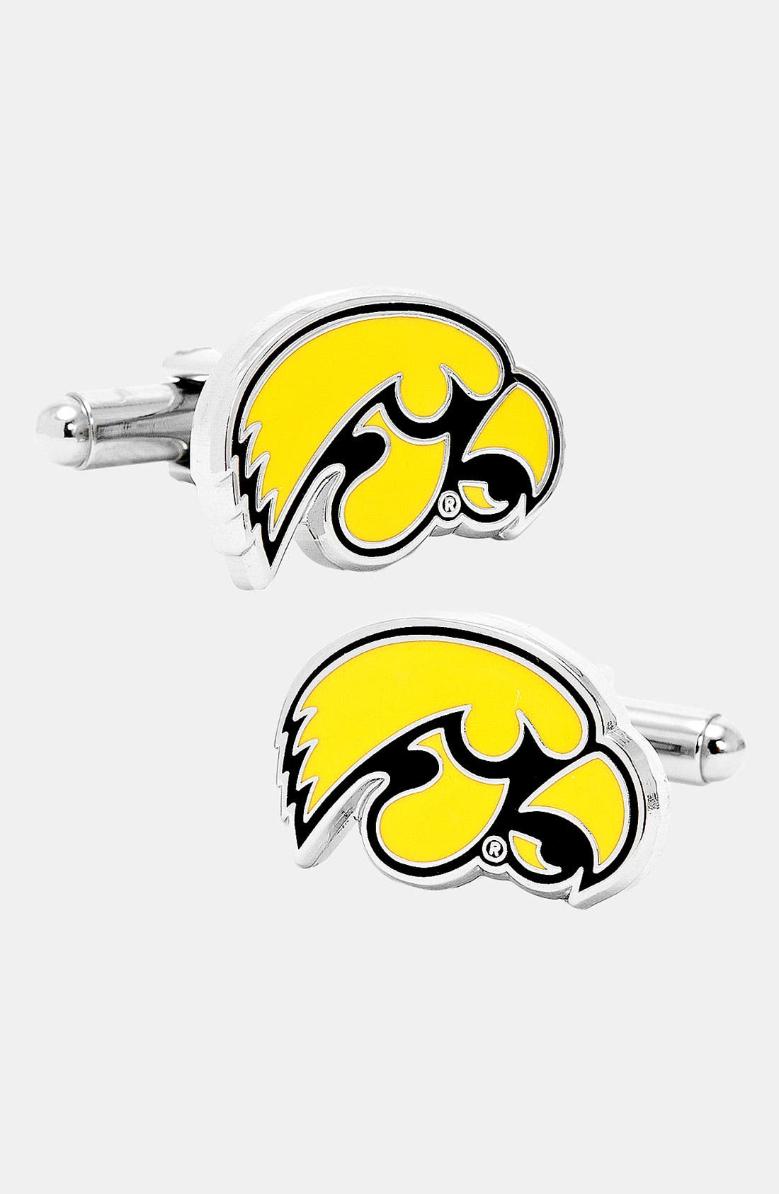 Alternate Image 1 Selected - Cufflinks, Inc. 'University of Iowa Hawkeyes' Cuff Links