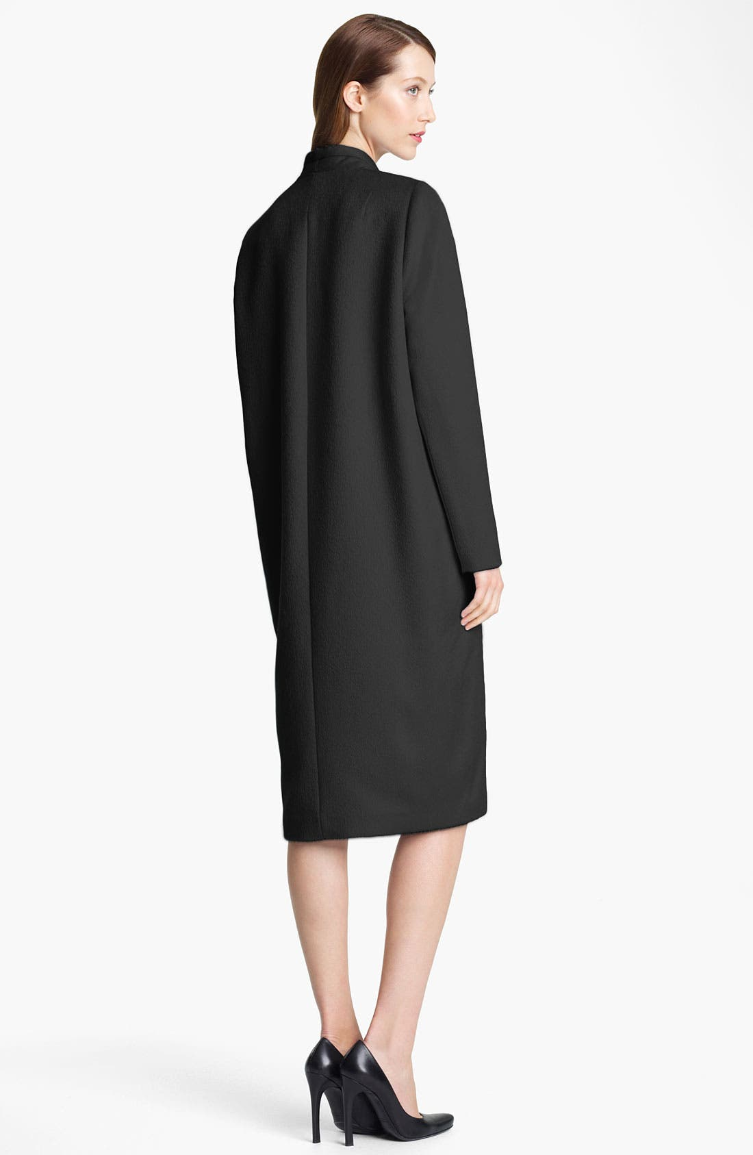 Alternate Image 2  - Jil Sander Long Bonded Wool Coat