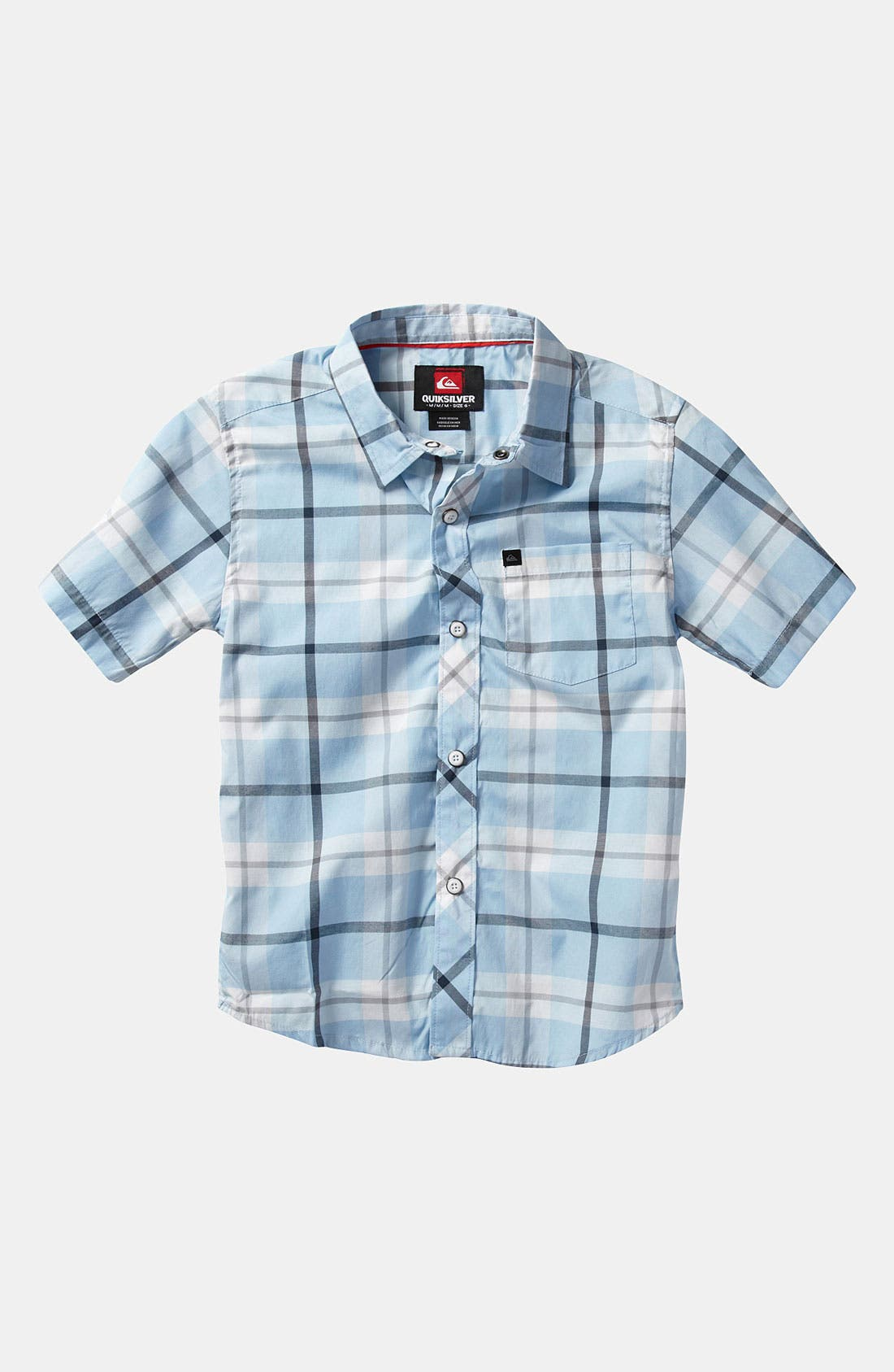 Alternate Image 1 Selected - Quiksilver 'Four Door' Woven Shirt (Little Boys)