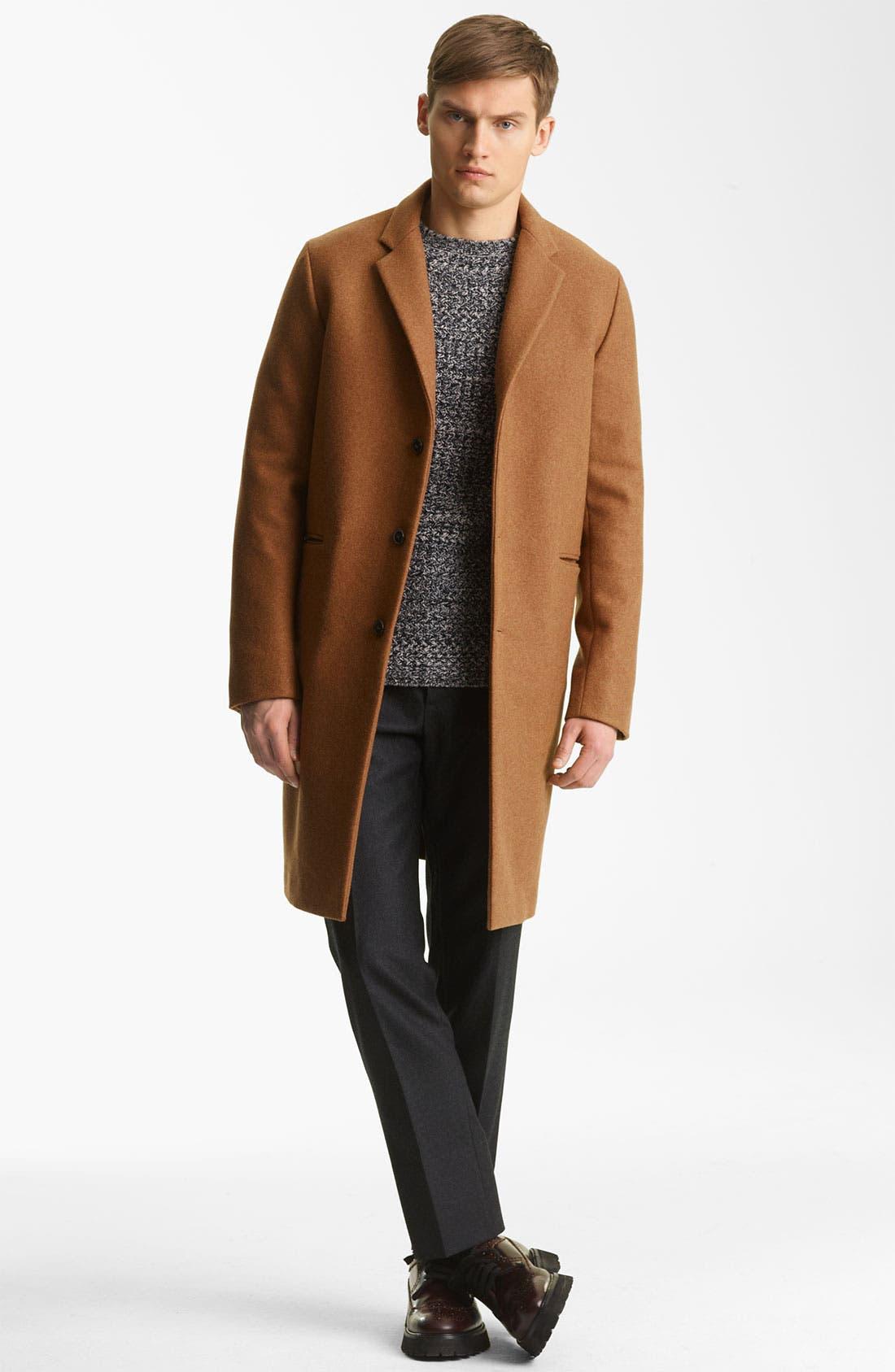 Alternate Image 4  - Marni Tweed Cashmere Sweater