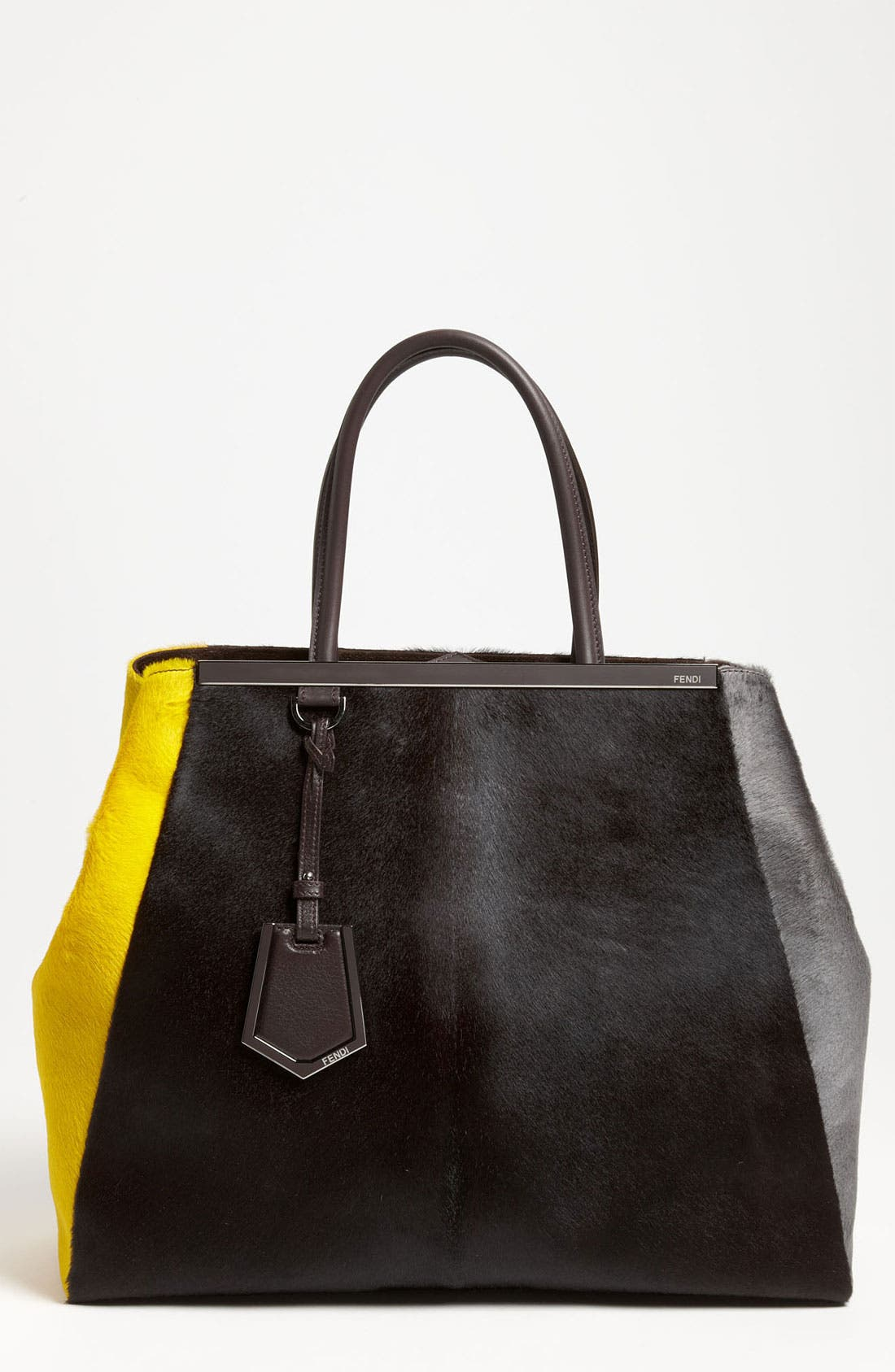 Main Image - Fendi '2Jours - Large' Calf Hair Shopper