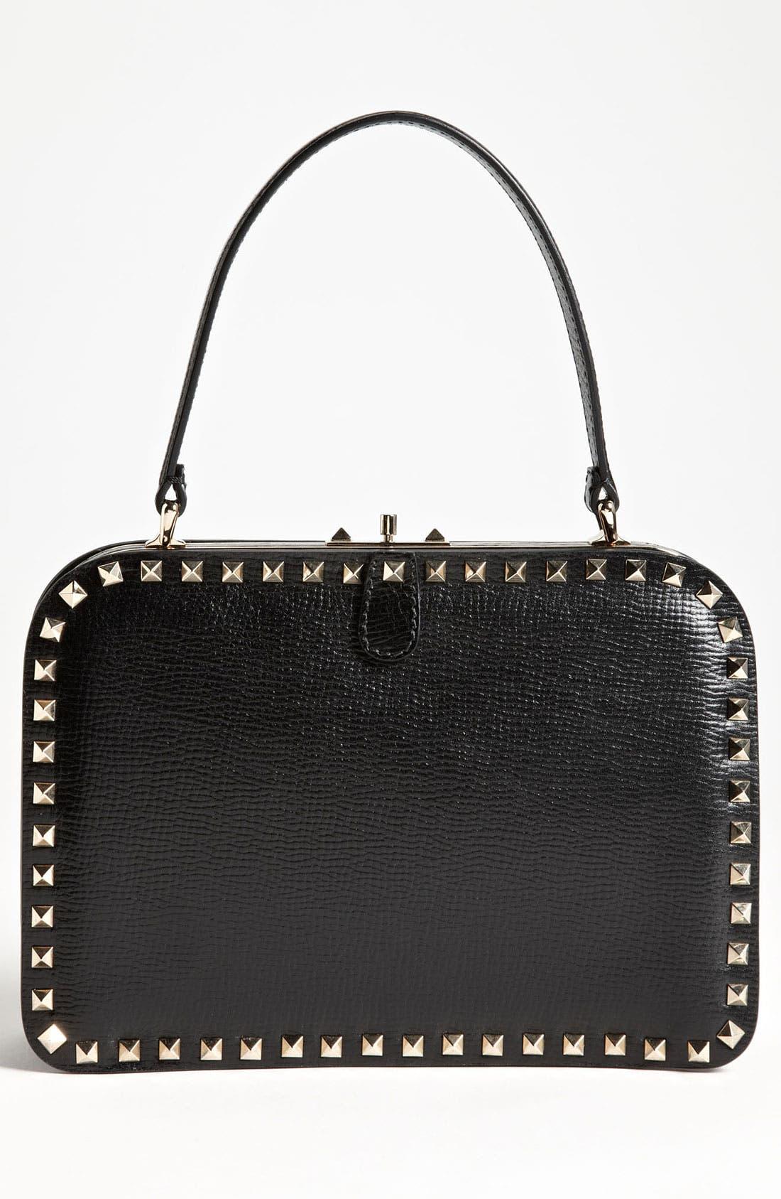 Main Image - Valentino 'Rockstud - Mini' Frame Bag