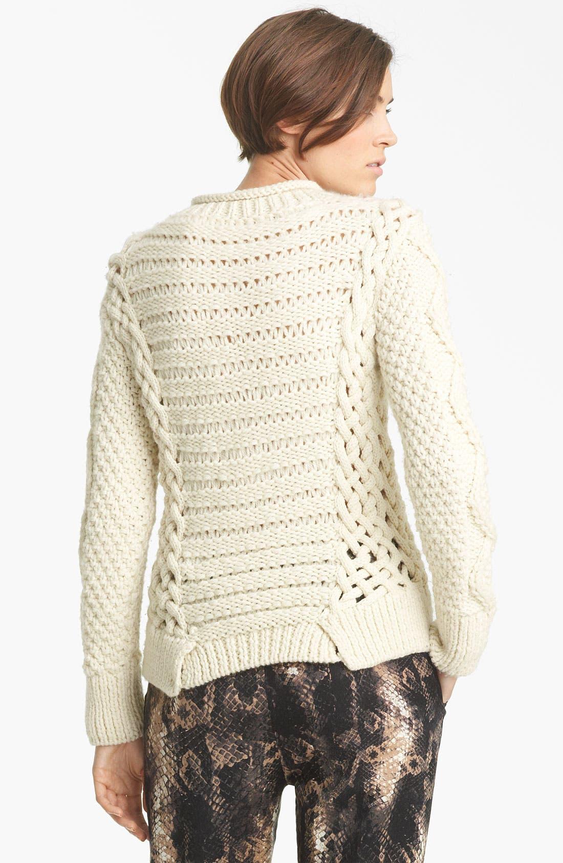 Alternate Image 2  - Yigal Azrouël Duo Knit Sweater