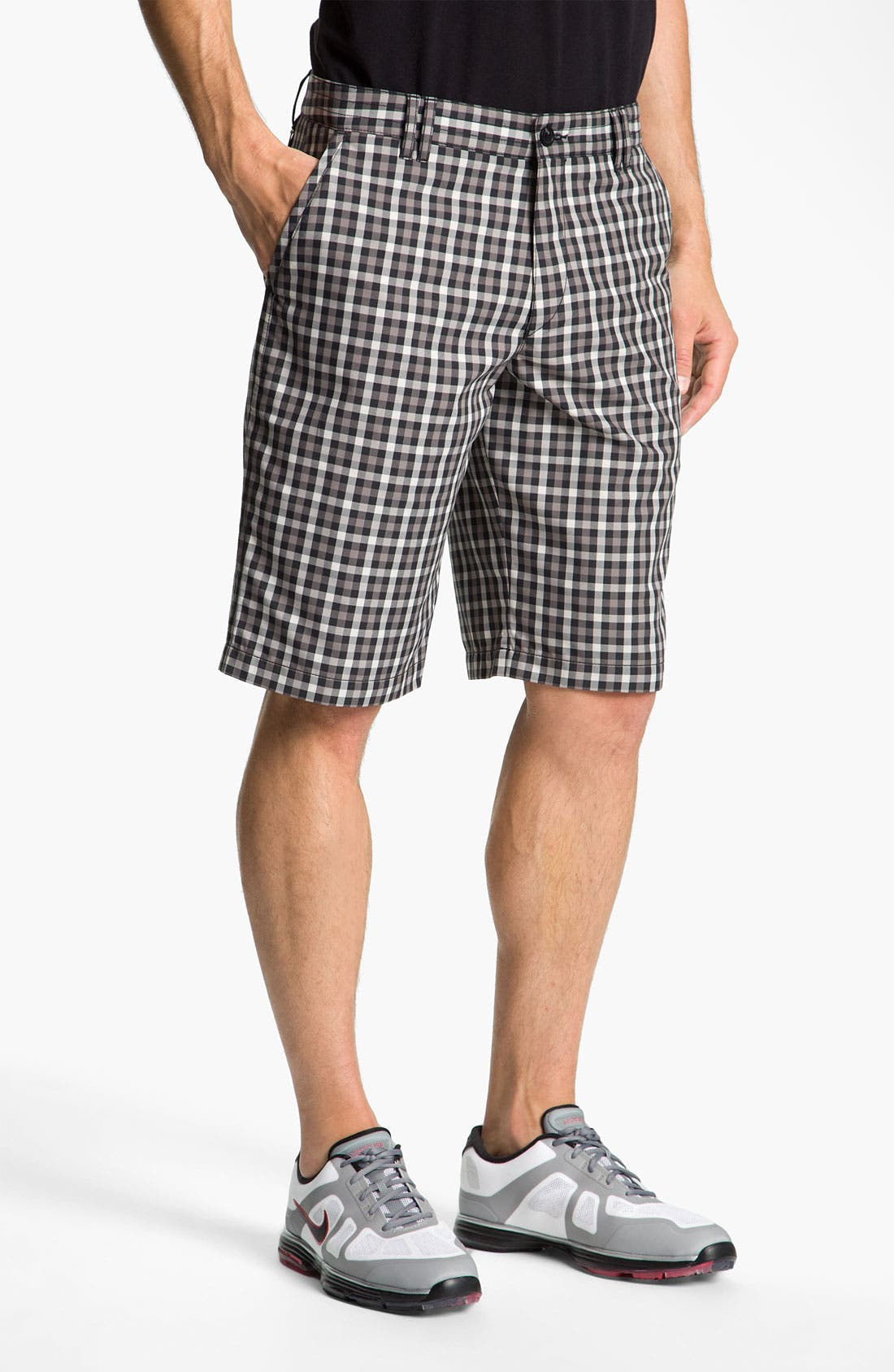 Alternate Image 1 Selected - BOSS Green 'Hitch' Plaid Golf Shorts