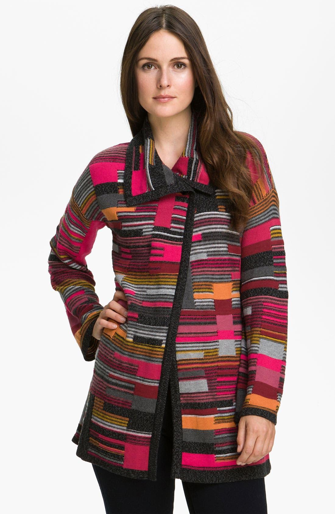Alternate Image 3  - Nic + Zoe 'Puzzle' Knit Jacket
