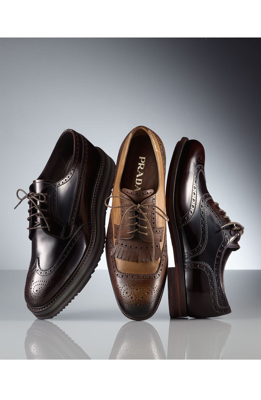 Alternate Image 5  - Prada Wingtip Oxford