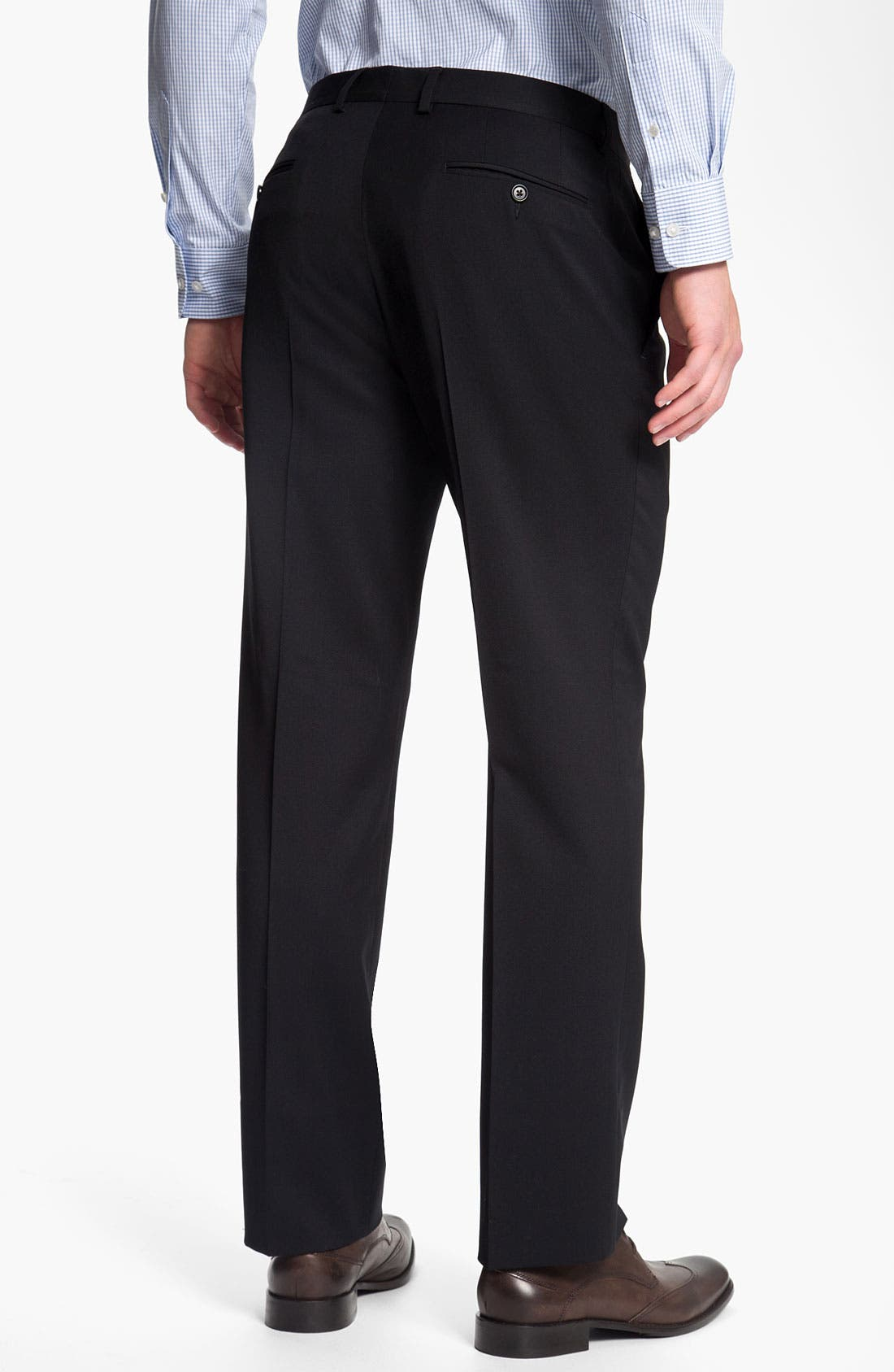 Alternate Image 2  - John Varvatos Star USA Red Label 'Petro' Wool Trousers