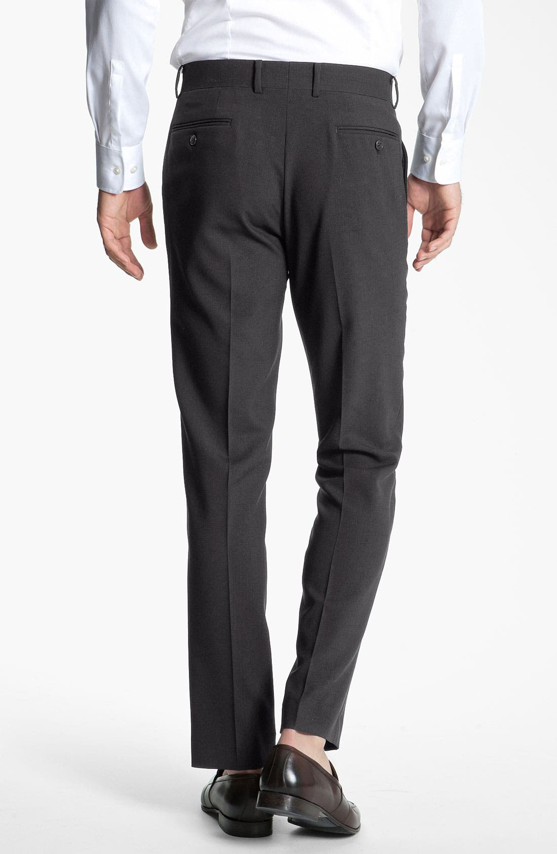 Alternate Image 2  - John Varvatos Star USA 'Petro' Flat Front Wool Trousers