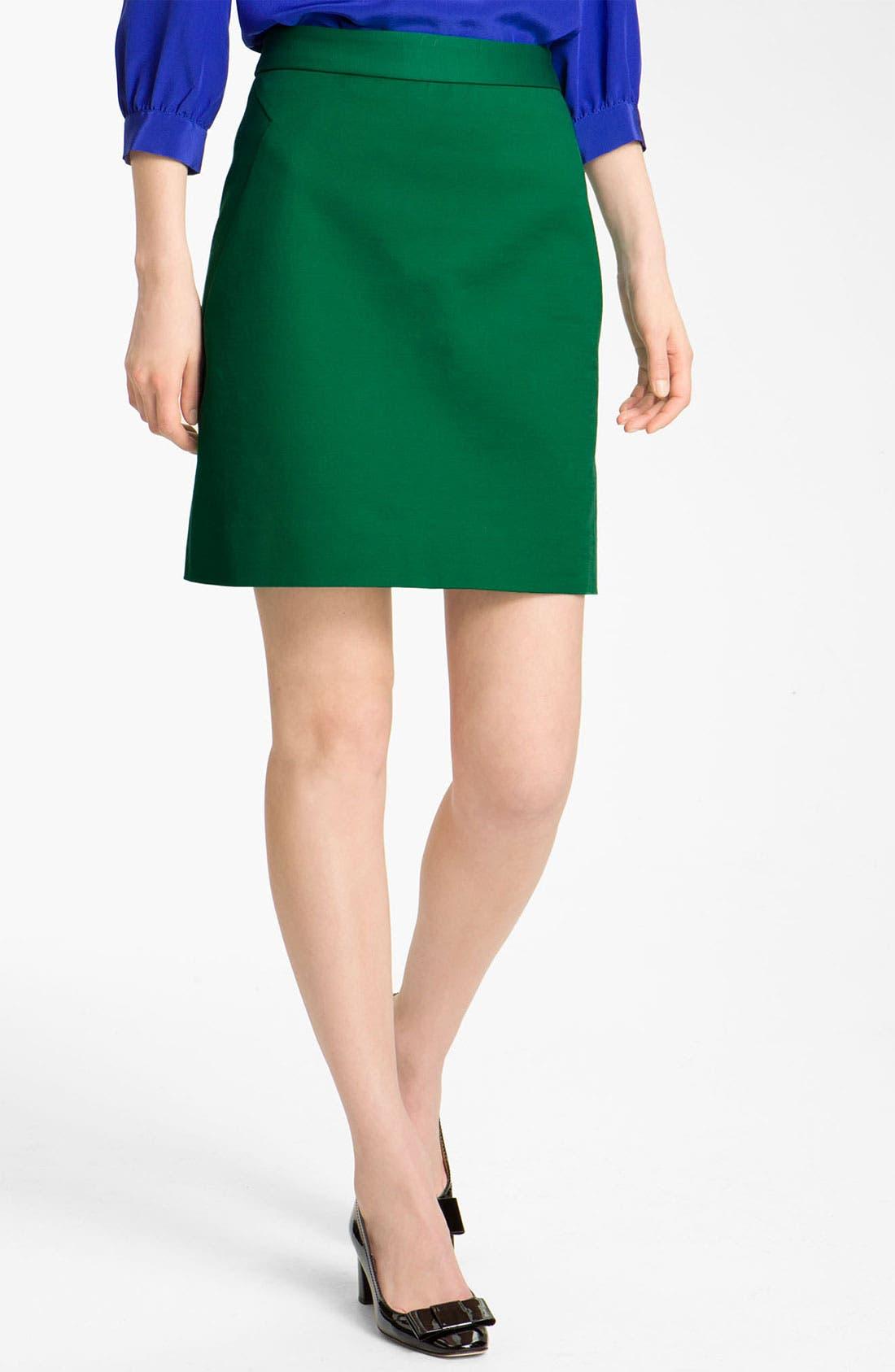 Main Image - kate spade new york 'valentine' skirt