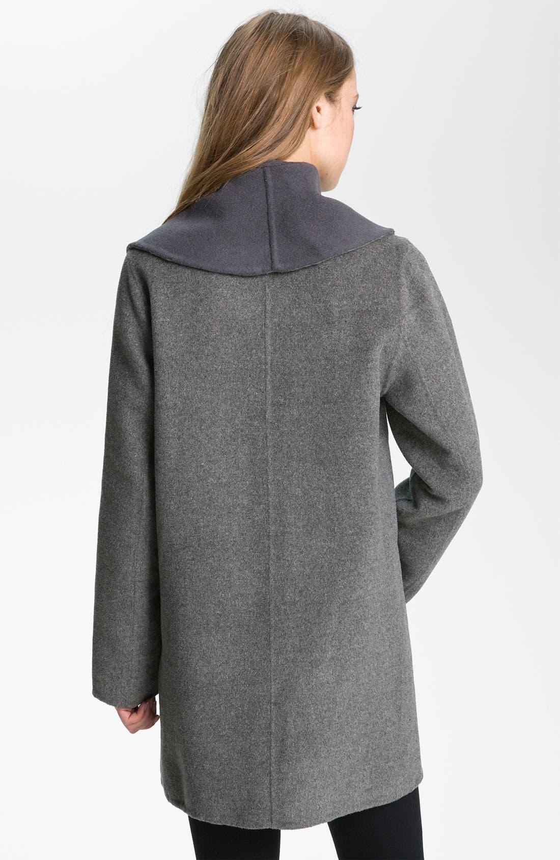 Alternate Image 2  - Joie 'Teyona' Two Tone Wool Blend Jacket