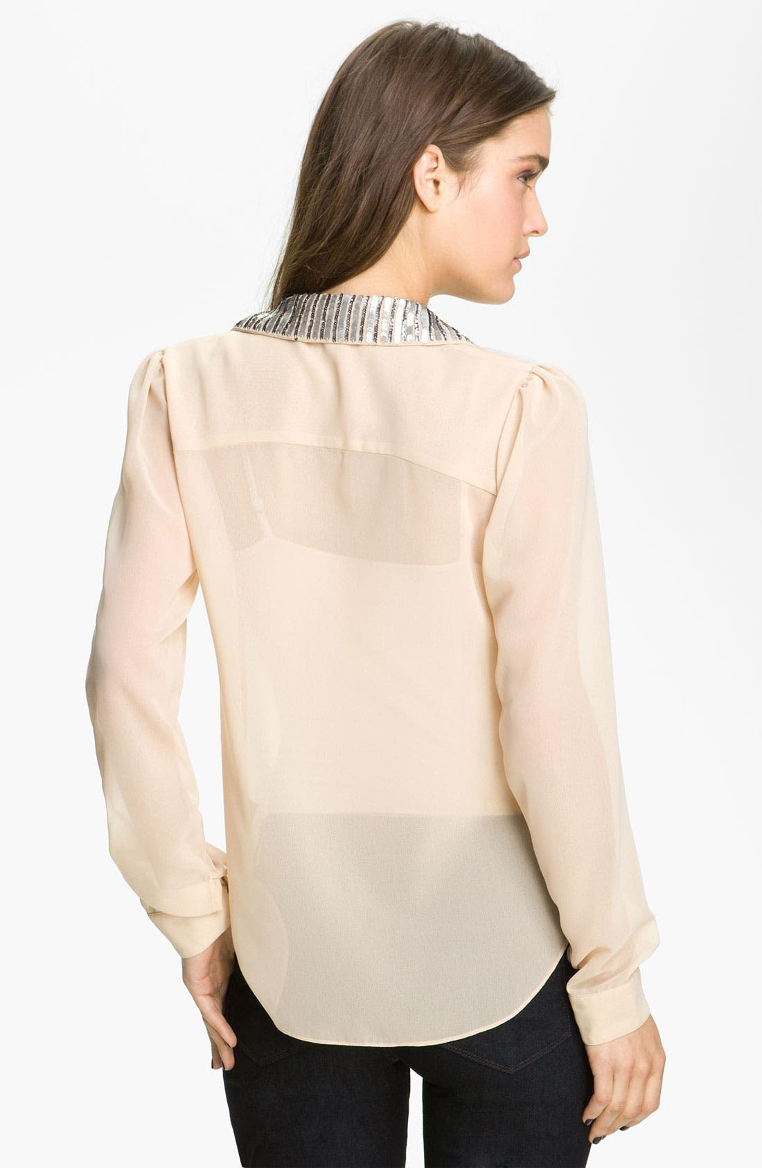 Alternate Image 2  - Sanctuary Embellished Collar Shirt