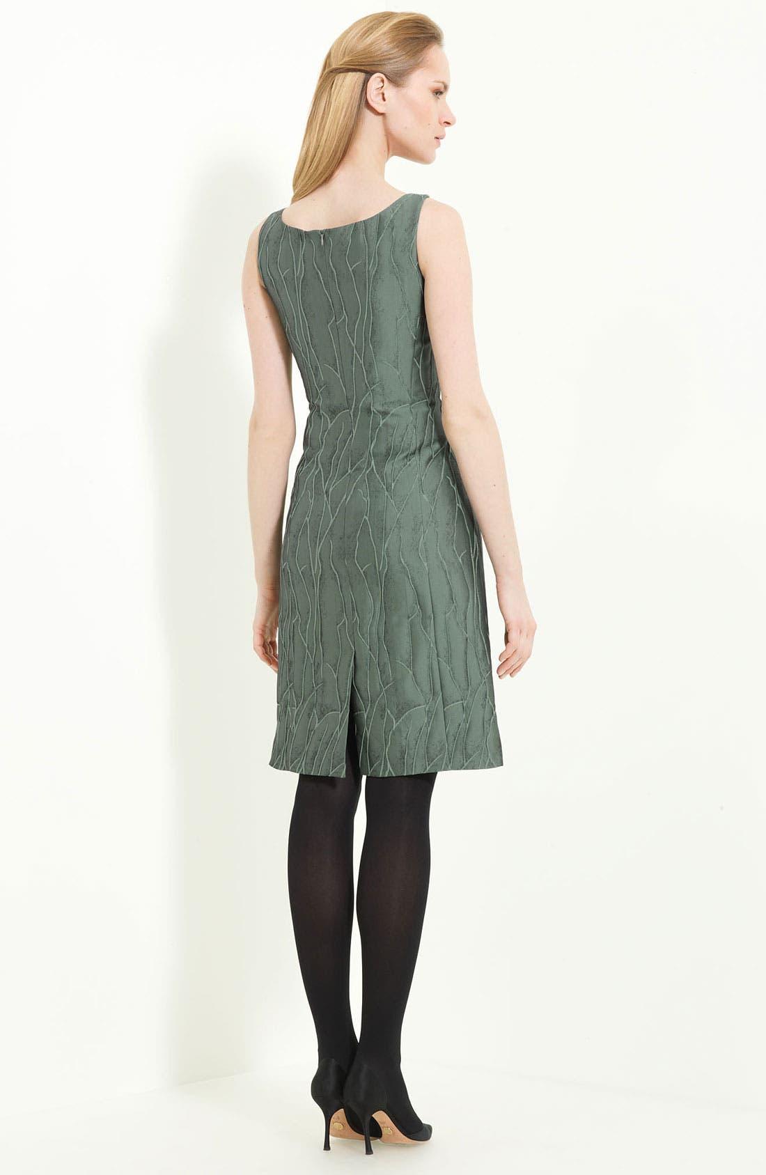 Alternate Image 2  - Armani Collezioni Jacquard Sheath Dress