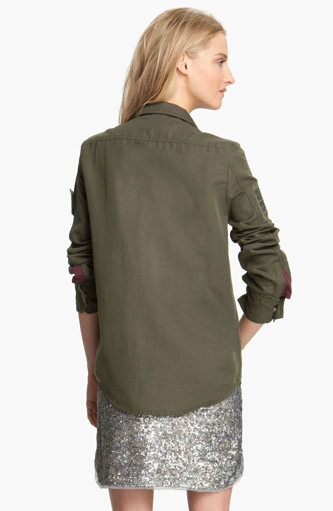 Alternate Image 2  - Zadig & Voltaire 'Tachly' Military Shirt