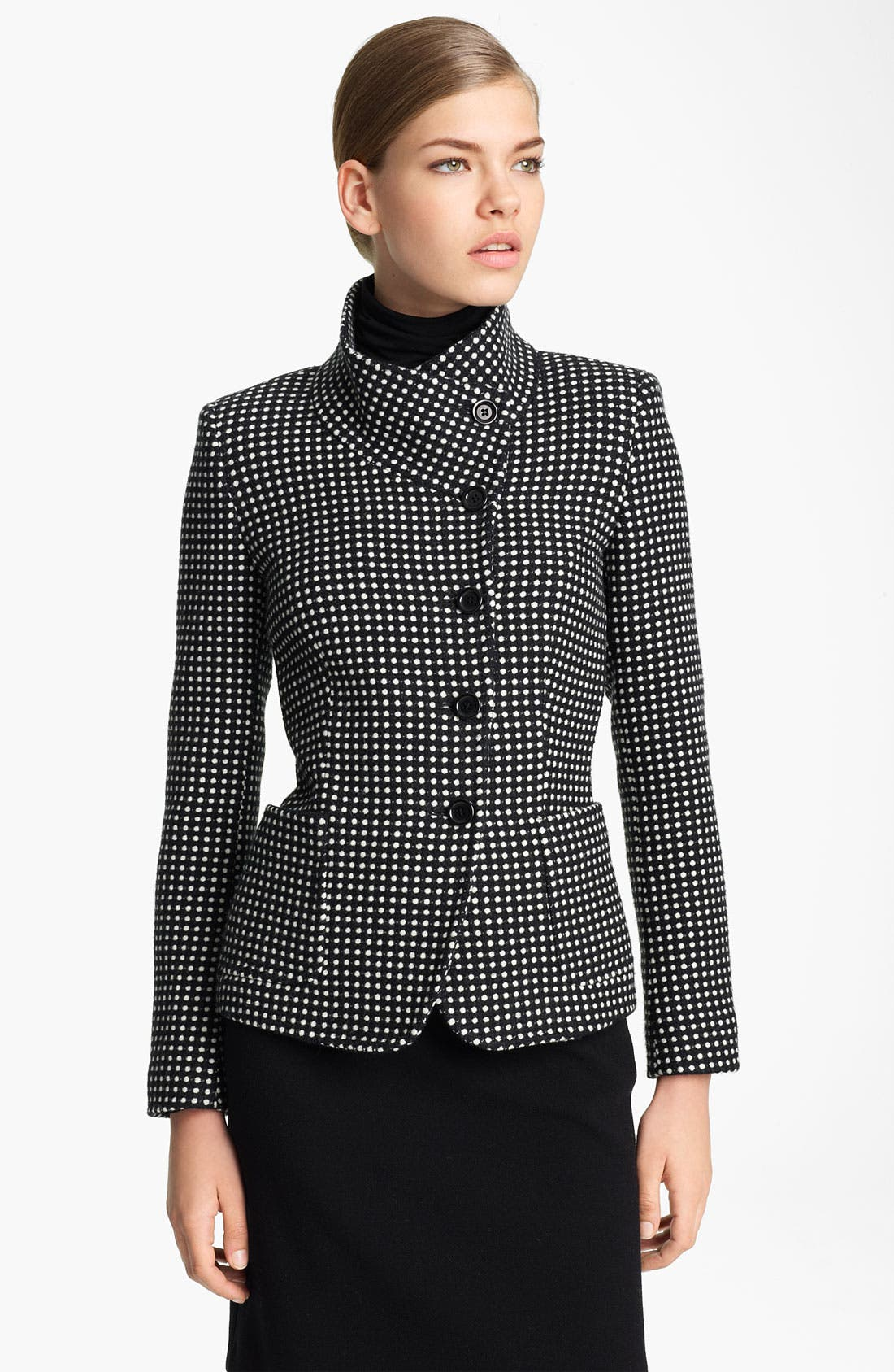 Alternate Image 1 Selected - Max Mara 'Helier' Asymmetrical Wool & Cashmere Jacket
