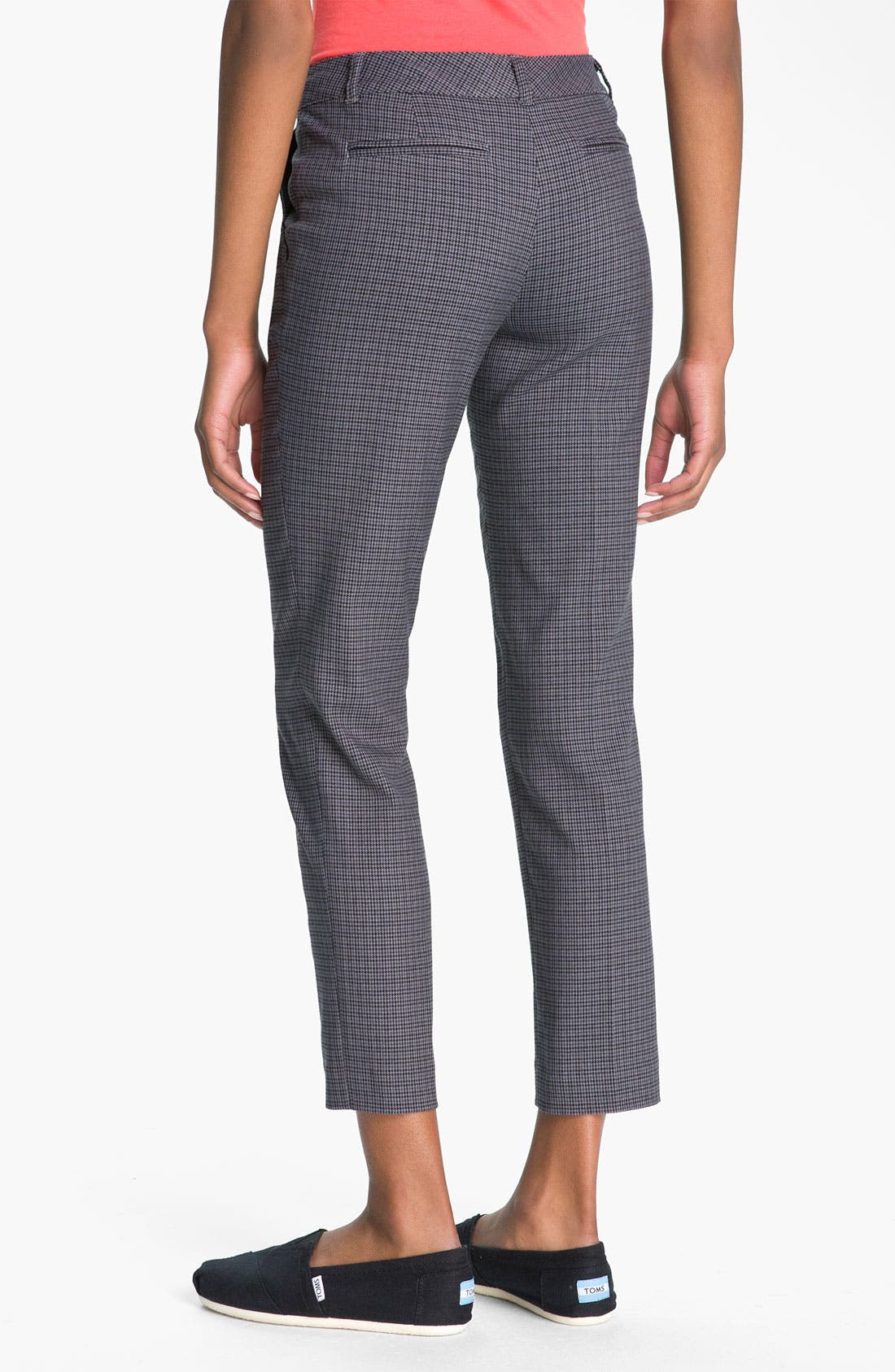 Alternate Image 2  - BP. Plaid Slim Ankle Pants (Juniors)