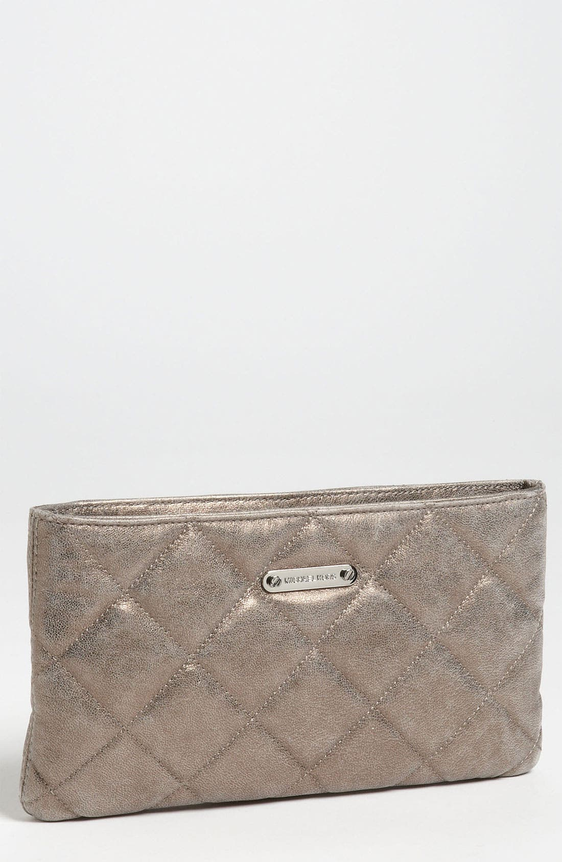 Alternate Image 1 Selected - MICHAEL Michael Kors 'Webster' Quilted Clutch