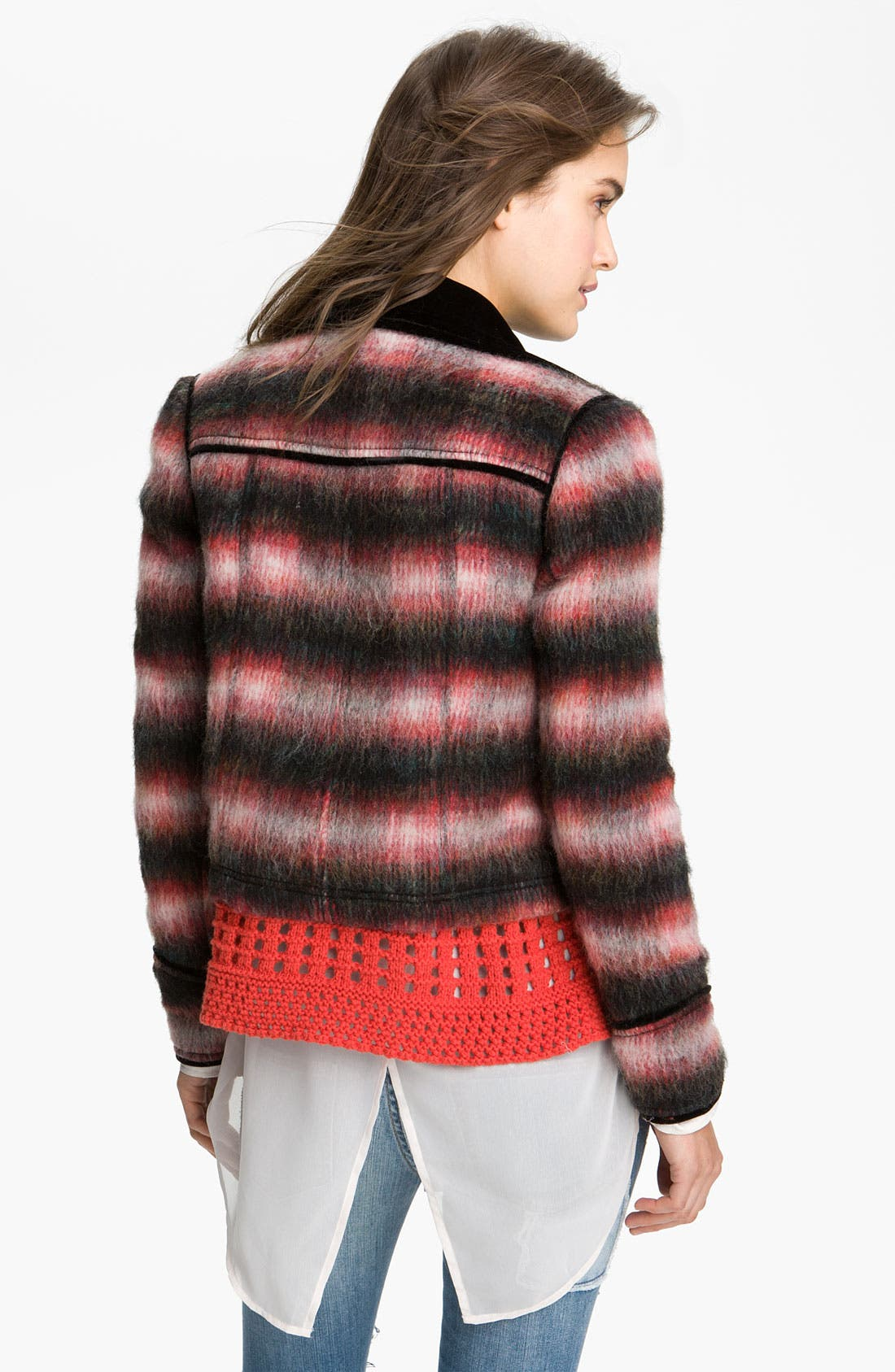 Alternate Image 2  - Free People Boxy Plaid Jacket