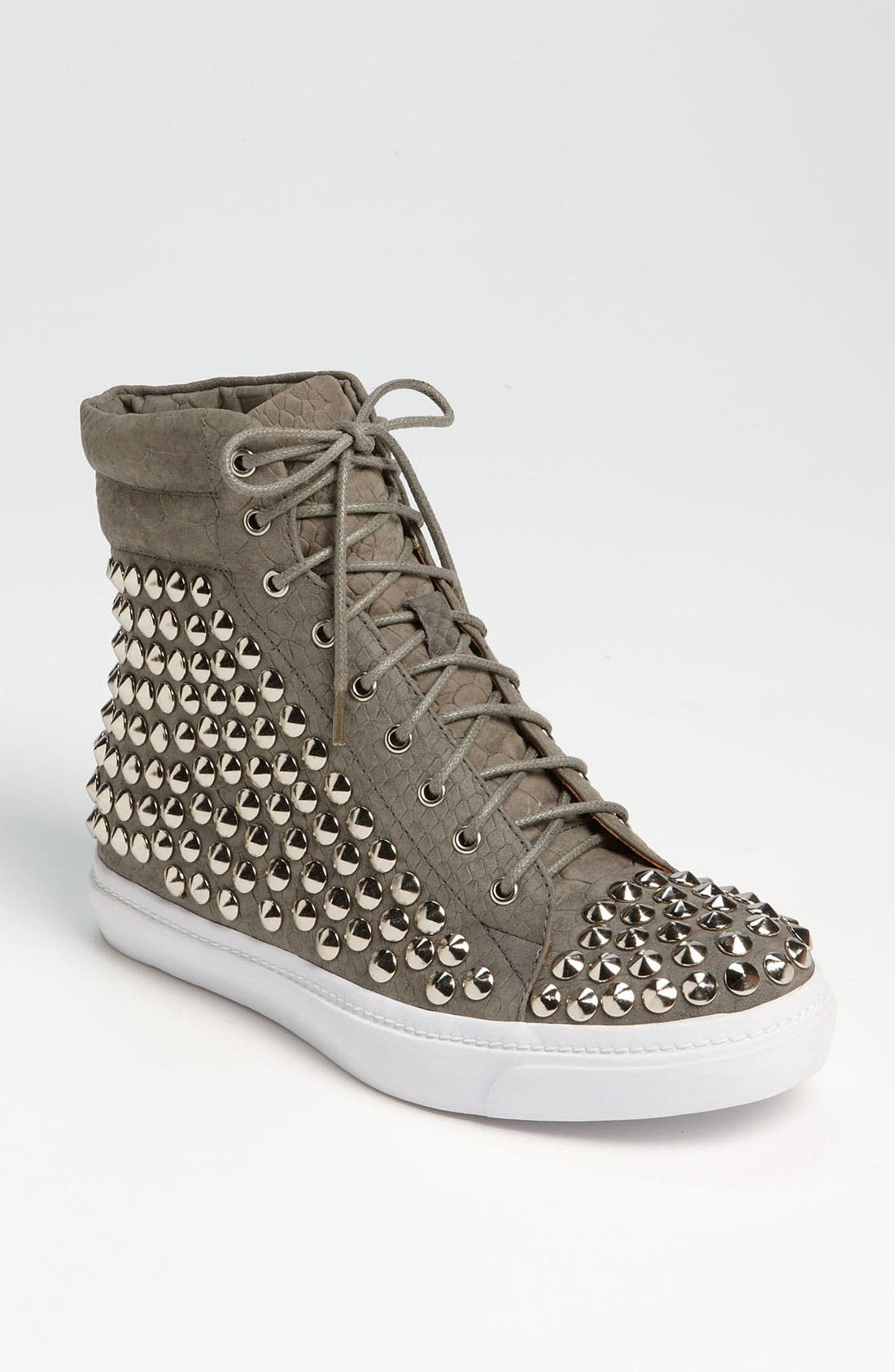Alternate Image 1 Selected - Jeffrey Campbell 'Alva' Studded High Top Sneaker