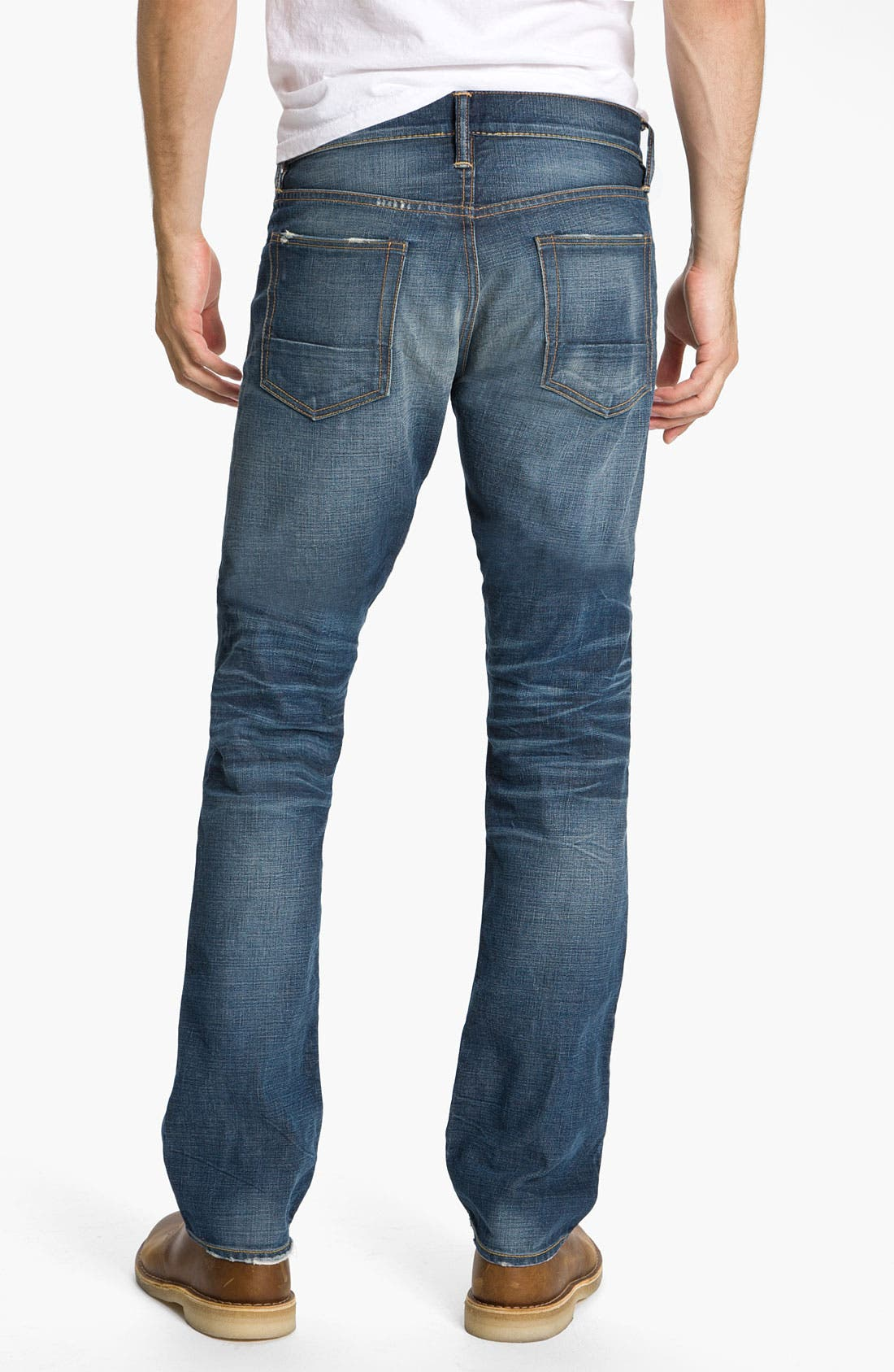 Alternate Image 1 Selected - NSF Clothing Straight Leg Jeans (Reno)