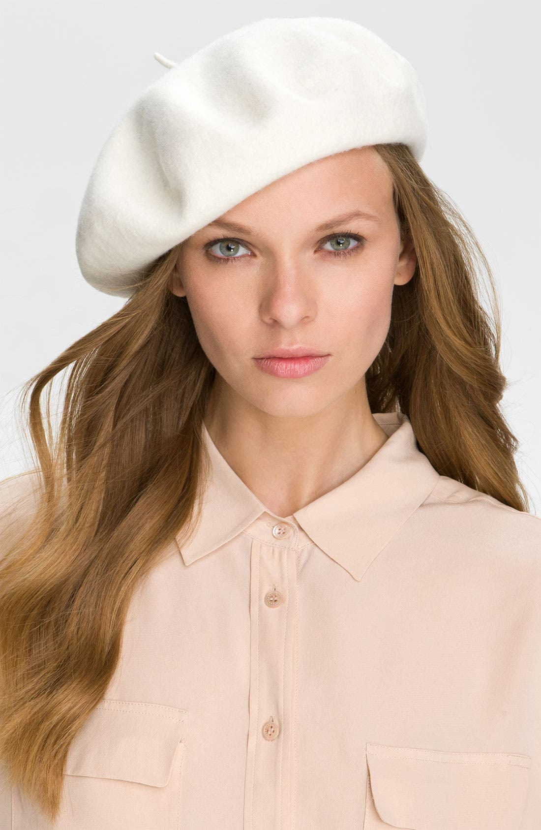 Alternate Image 1 Selected - Parkhurst Basic Wool Beret