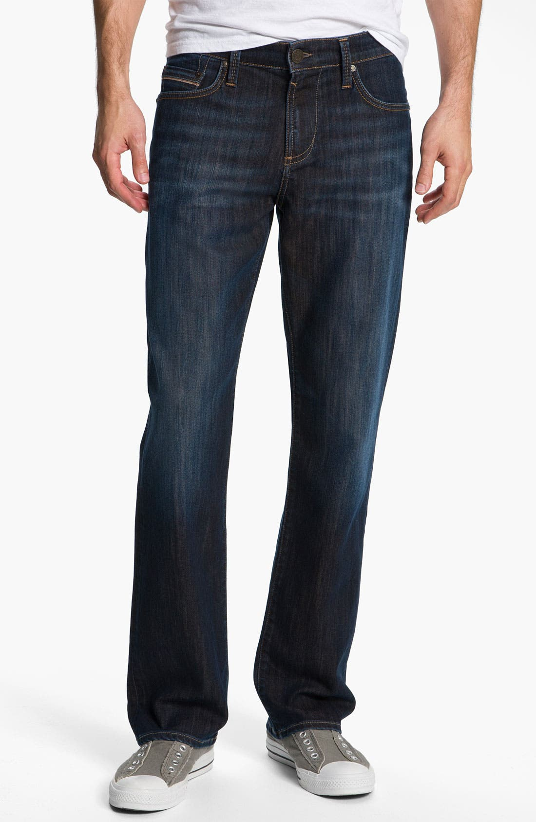 Alternate Image 1 Selected - Mavi Jeans 'Matt' Relaxed Fit Jeans (Dark Kensington)