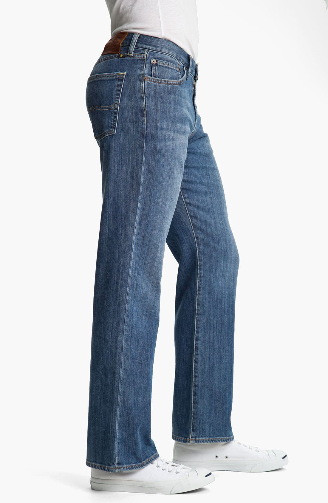 Alternate Image 3  - Lucky Brand '367 Vintage' Bootcut Jeans (Nugget)