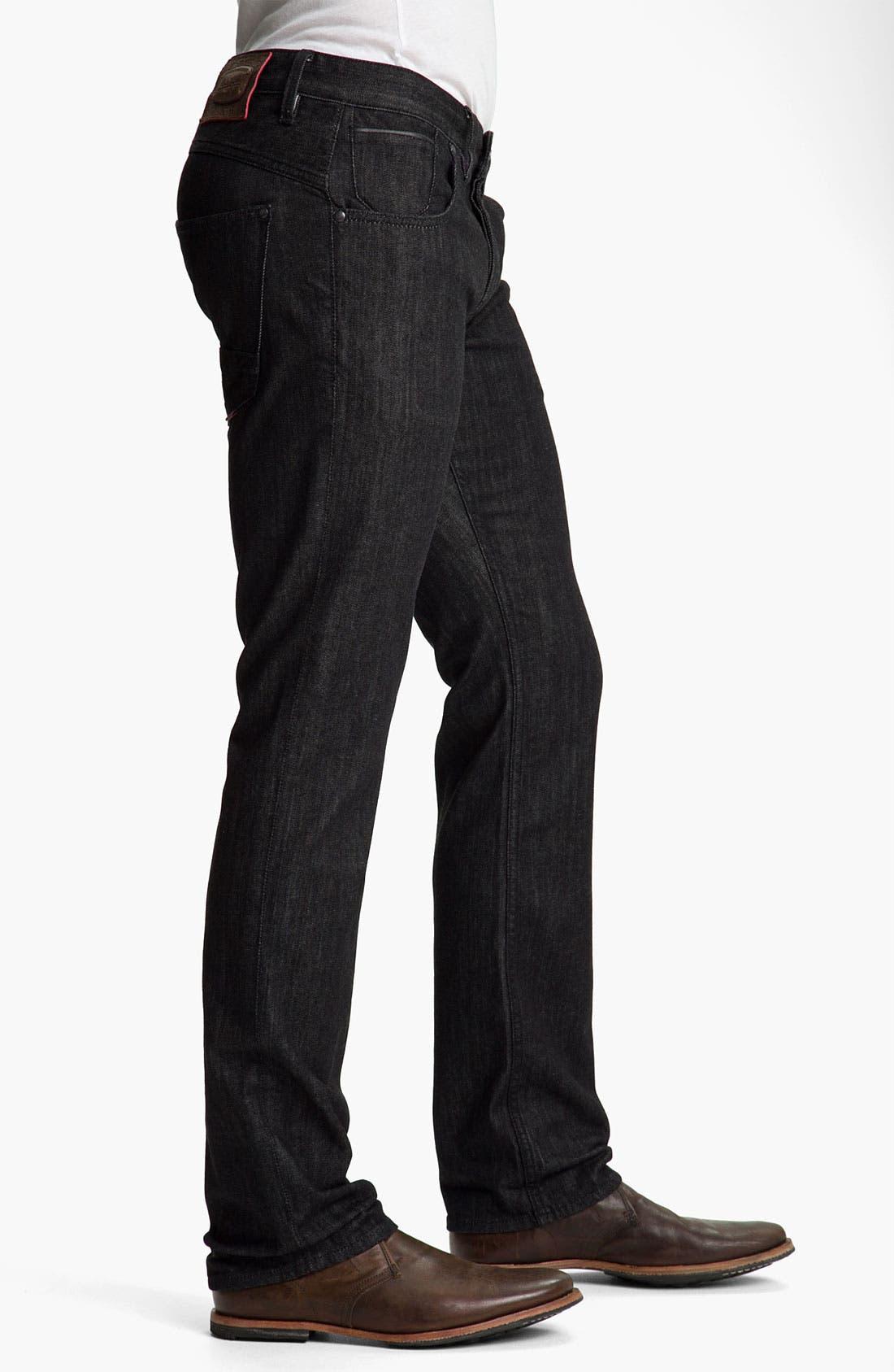 Alternate Image 3  - Robert Graham Jeans 'Noir' Straight Leg Jeans
