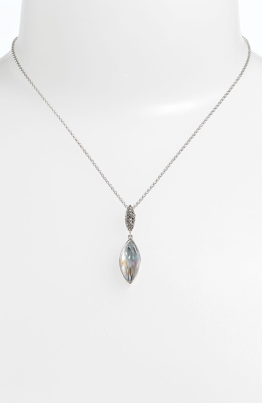 Alternate Image 1 Selected - Judith Jack Abalone Doublet Pendant Necklace