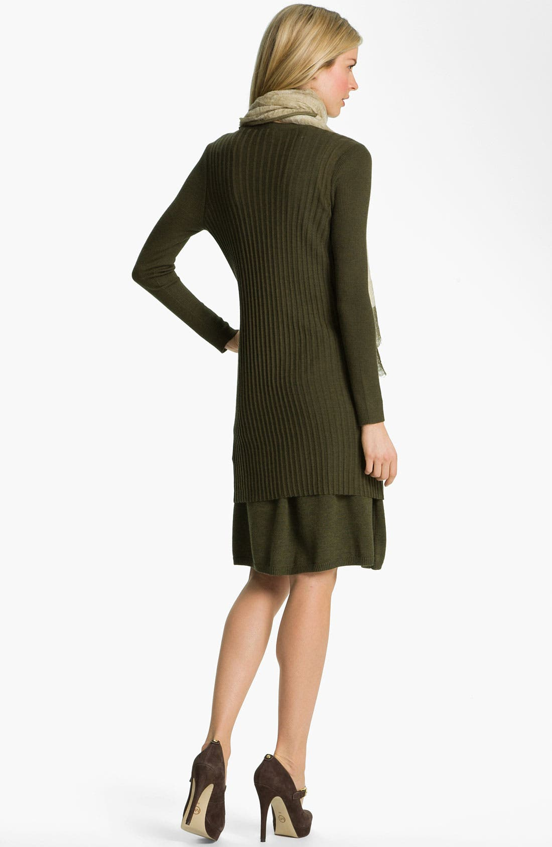 Alternate Image 5  - Eileen Fisher Fine Merino Jersey A-Line Skirt