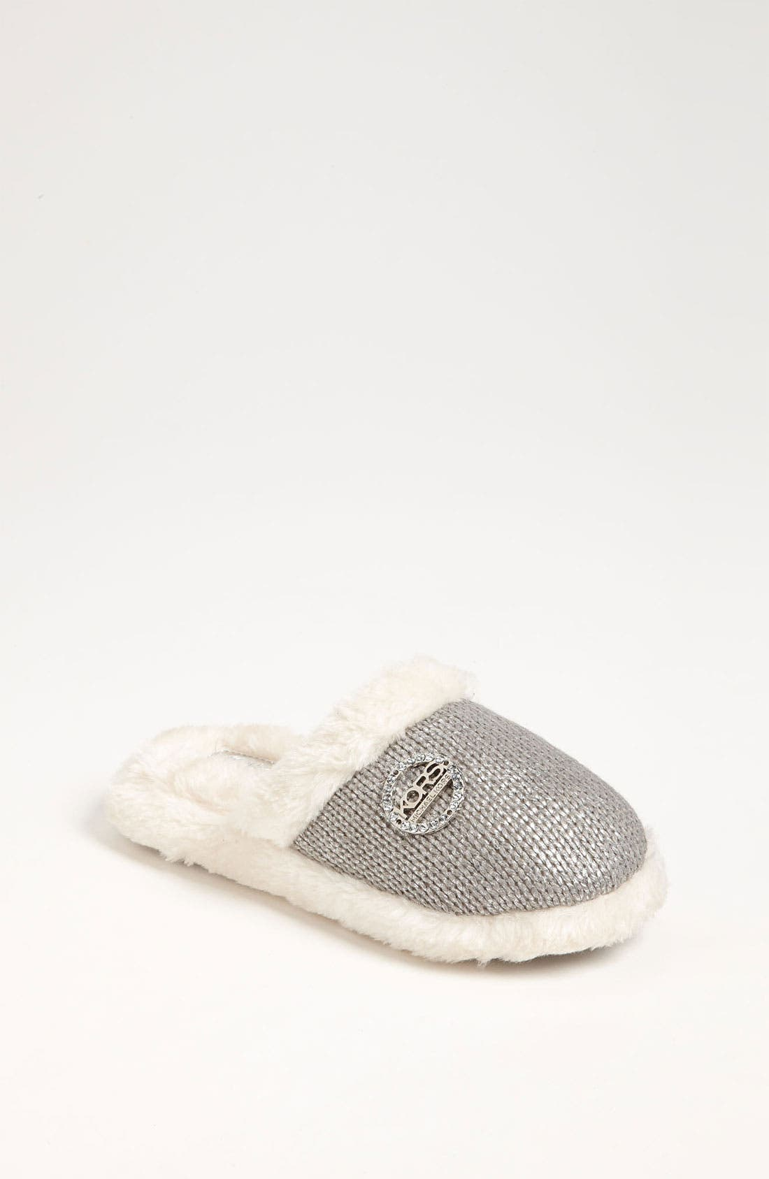 Main Image - KORS Michael Kors 'Shiloah' Slipper with Faux Fur Lining (Toddler, Little Kid & Big Kid)