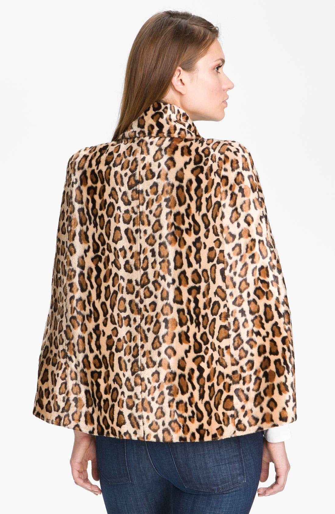 Alternate Image 2  - Mcginn Leopard Print Capelet