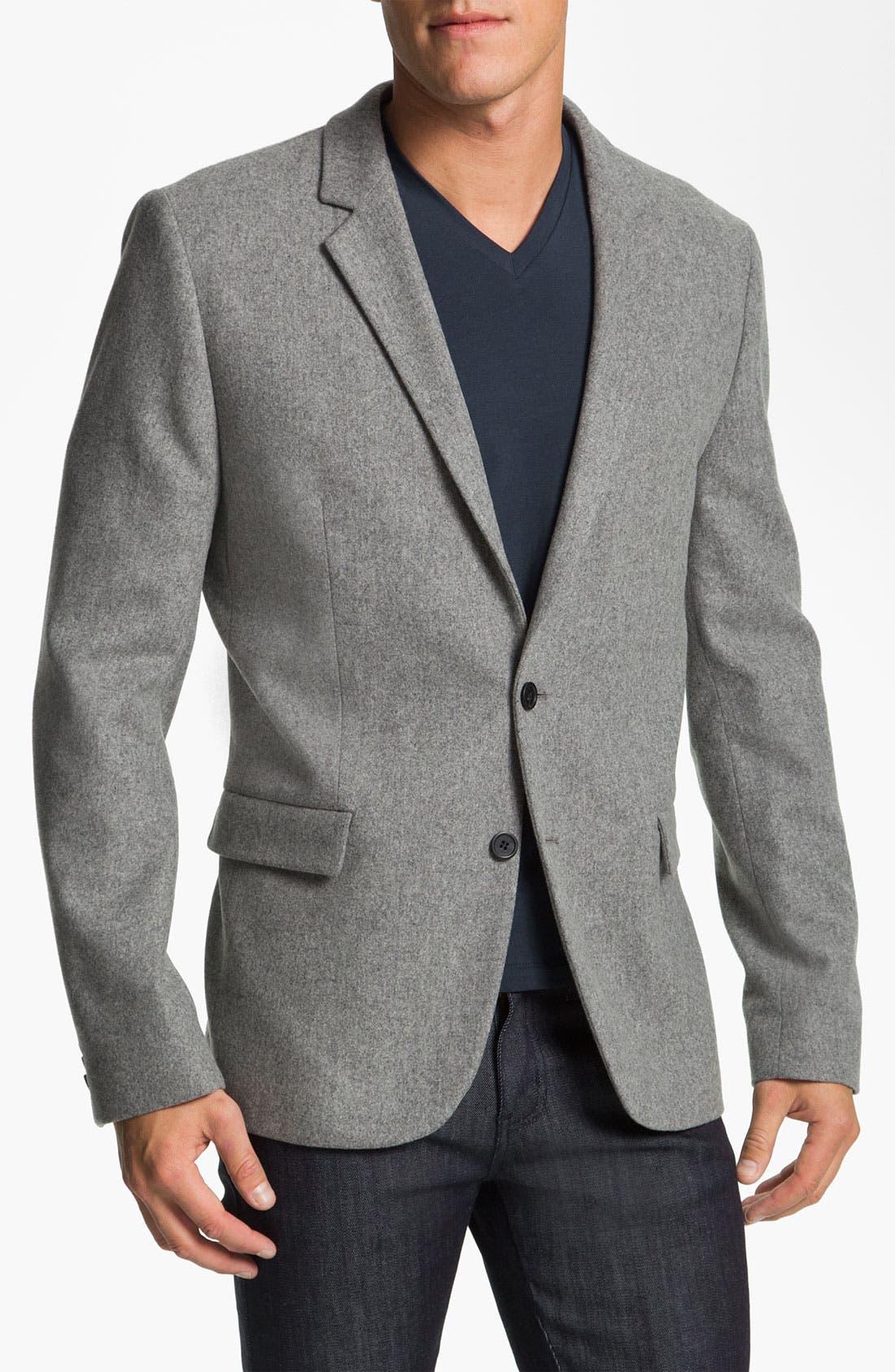 Main Image - HUGO 'Arbone' Wool & Cashmere Blend Blazer